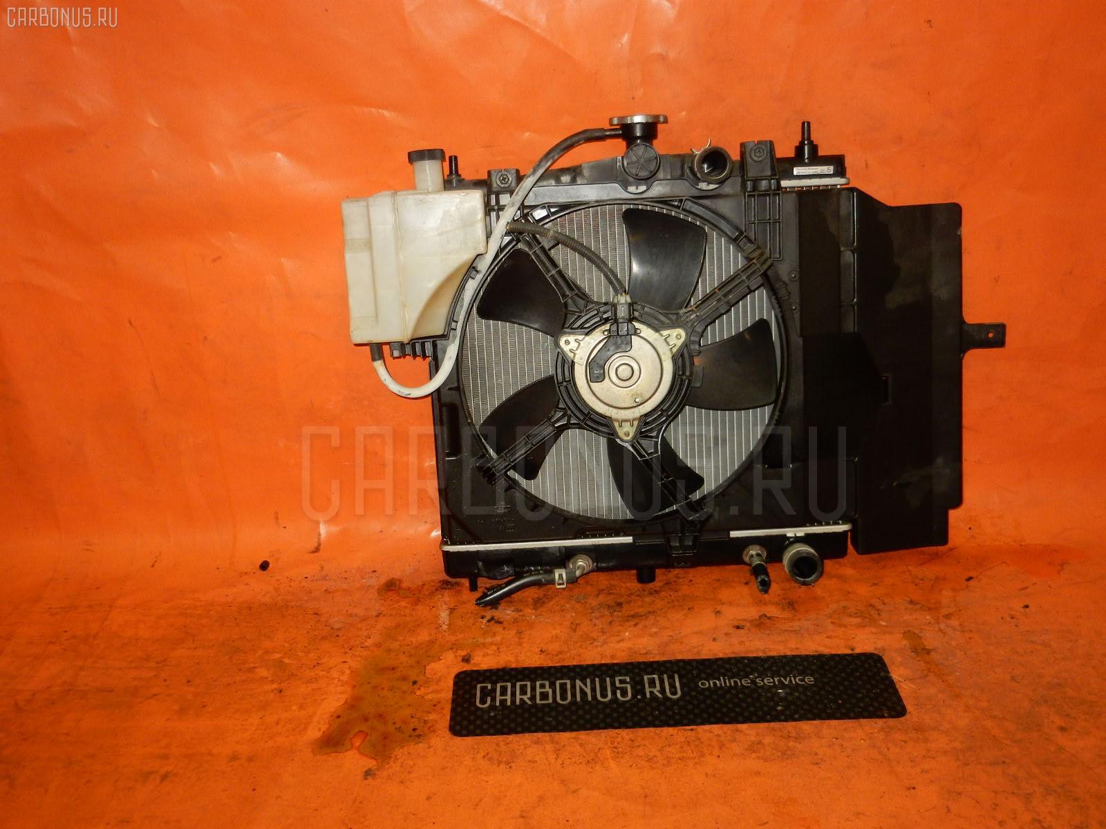 Радиатор ДВС NISSAN MARCH BNK12 CR14DE. Фото 7