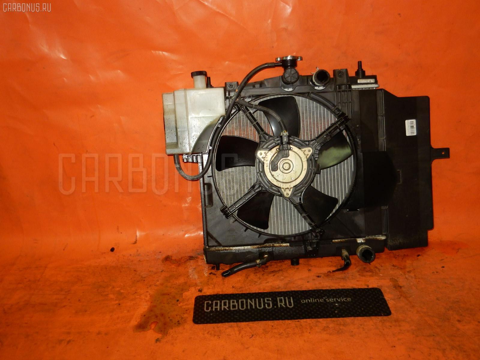 Радиатор ДВС NISSAN MARCH BNK12 CR14DE. Фото 9