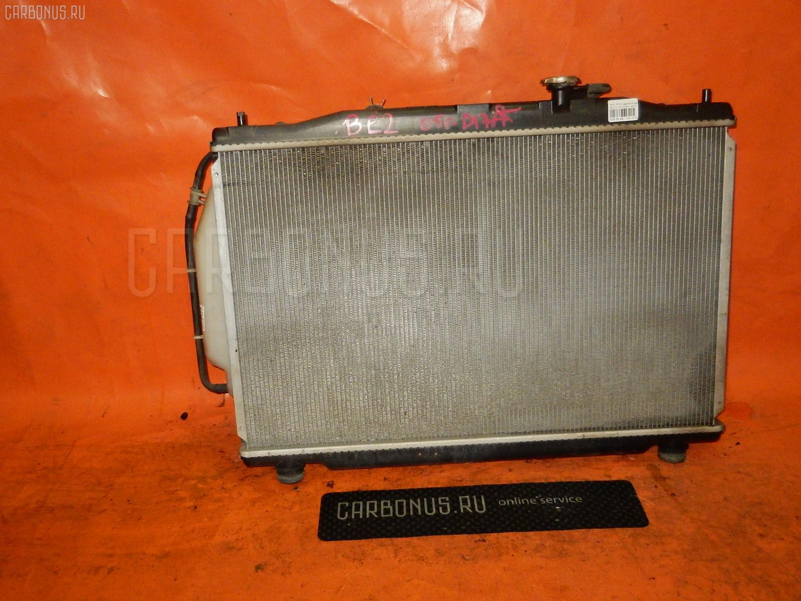 Радиатор ДВС HONDA EDIX BE2 D17A Фото 2