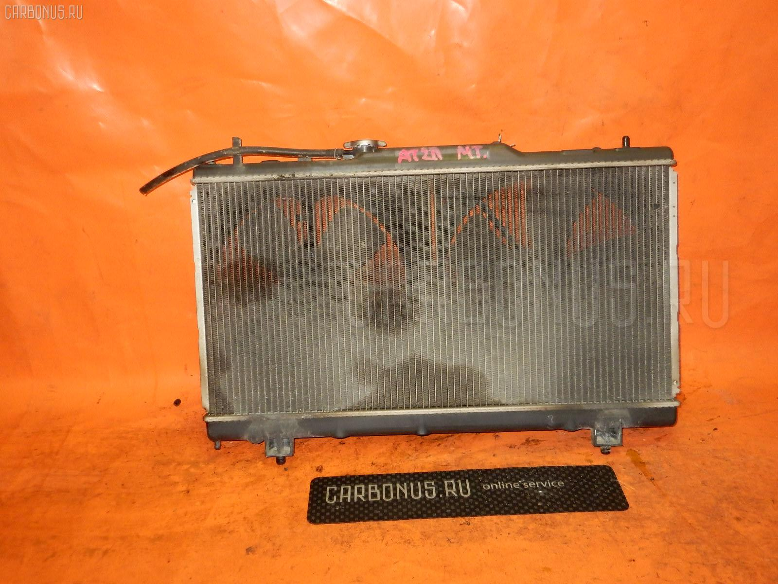 Радиатор ДВС TOYOTA CORONA PREMIO AT211 7A-FE. Фото 2