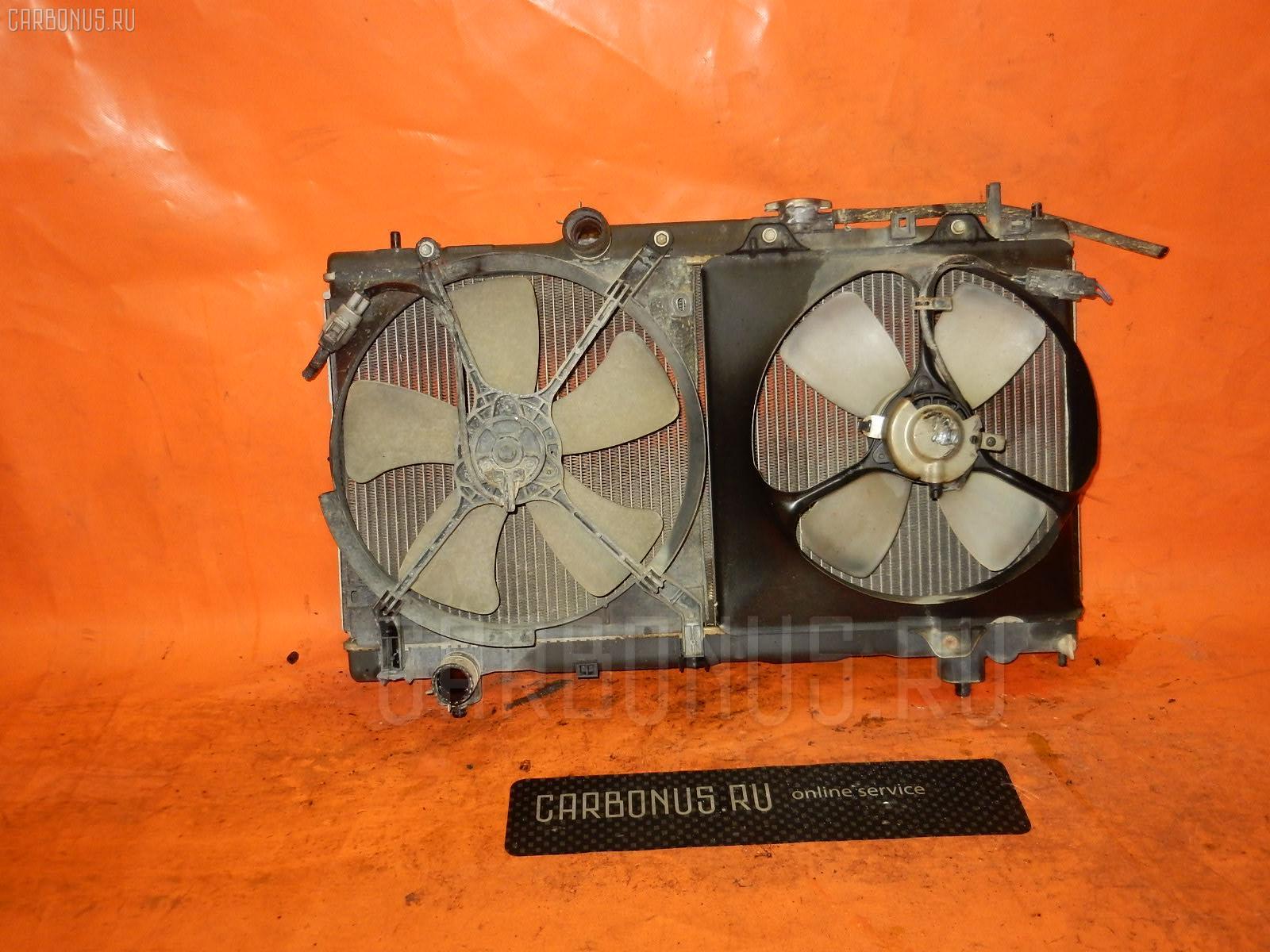 Радиатор ДВС TOYOTA CORONA PREMIO AT211 7A-FE. Фото 1