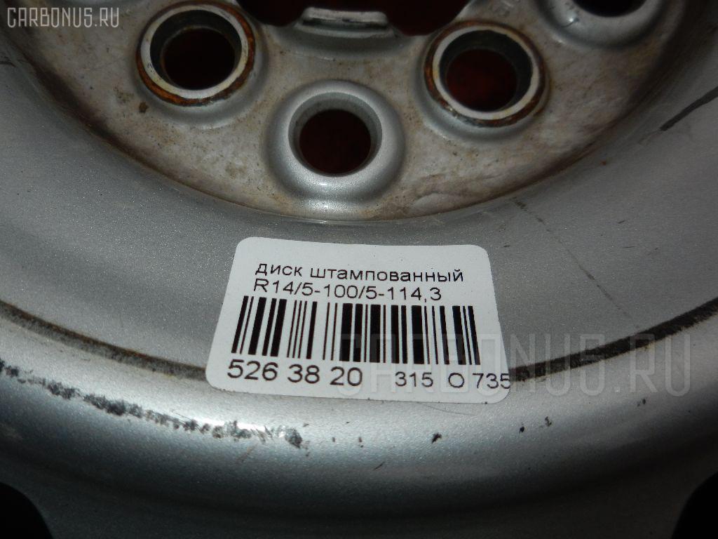 Диск штампованный R14 / 5-100/5-114.3 Фото 2