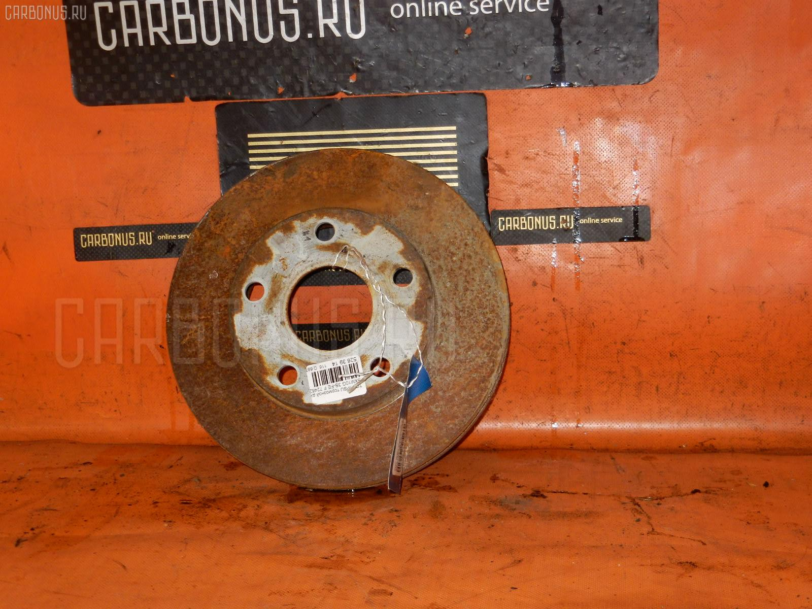 Тормозной диск TOYOTA IPSUM SXM10G. Фото 9