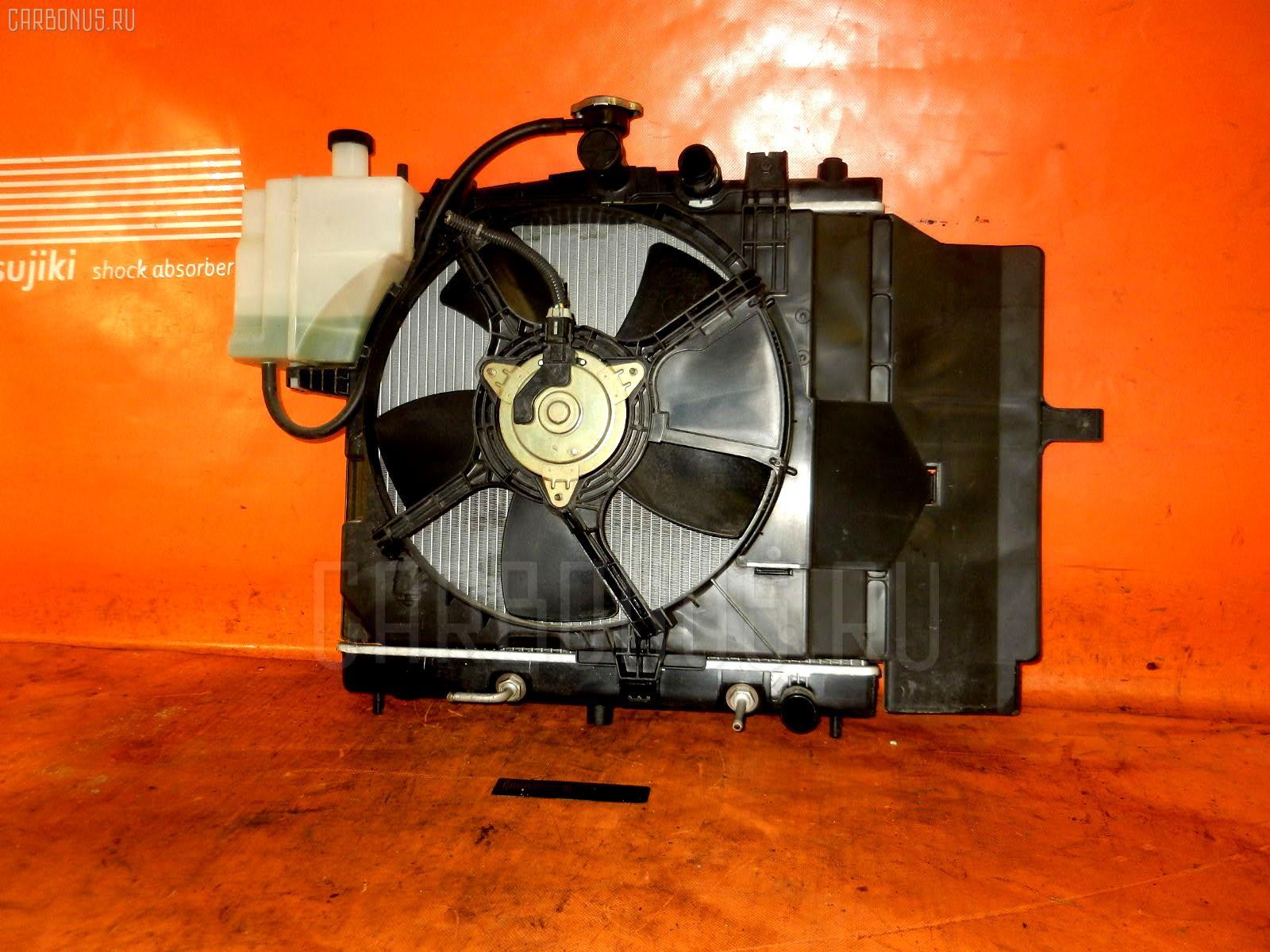 Радиатор ДВС NISSAN MARCH BK12 CR14DE. Фото 4