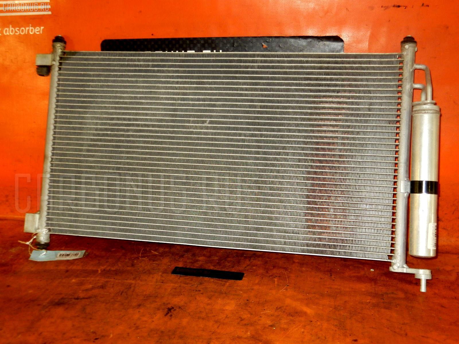 Радиатор кондиционера NISSAN MARCH BK12 CR14DE. Фото 3