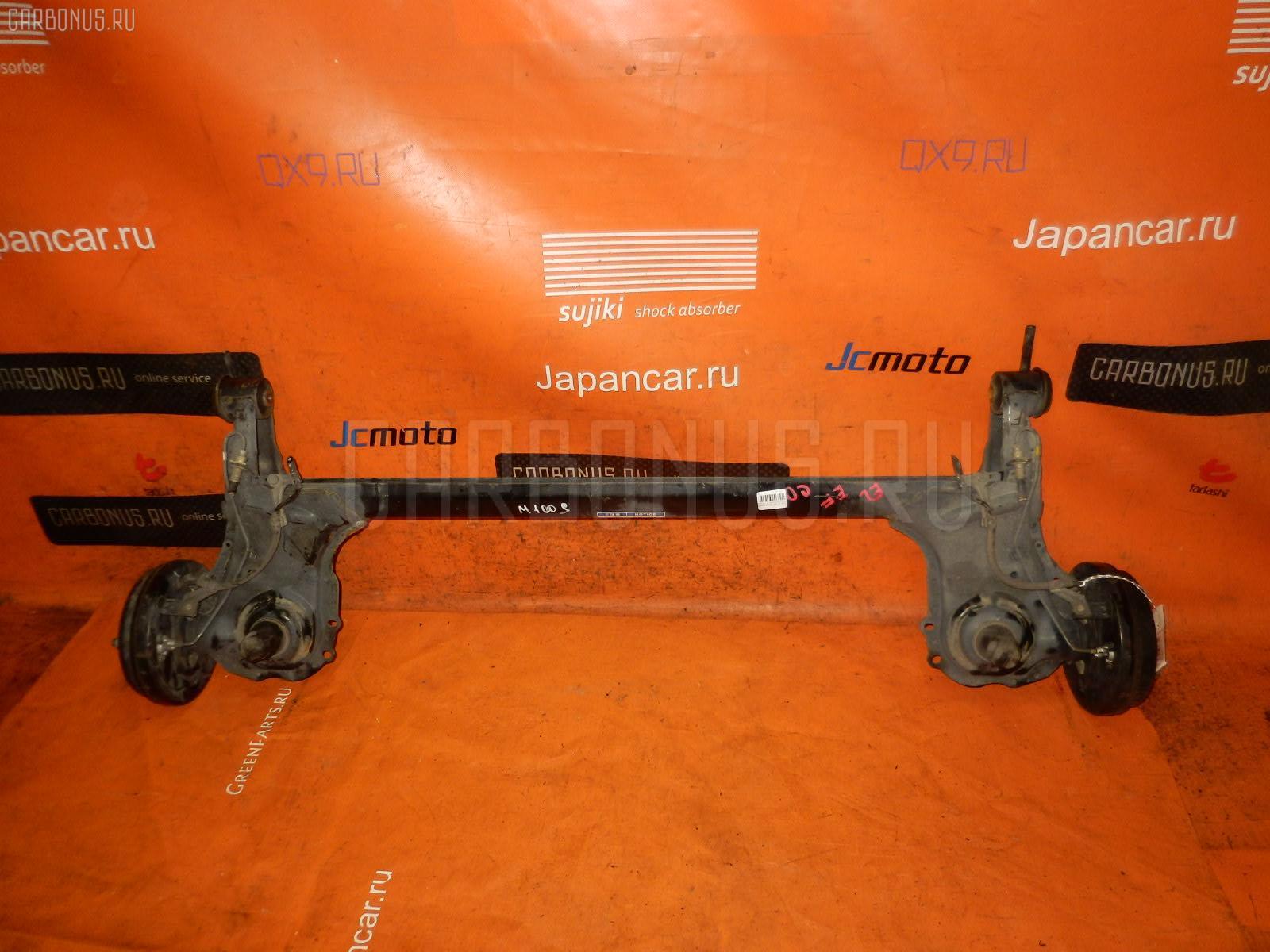 Балка подвески DAIHATSU STORIA M100S EJ-DE. Фото 3