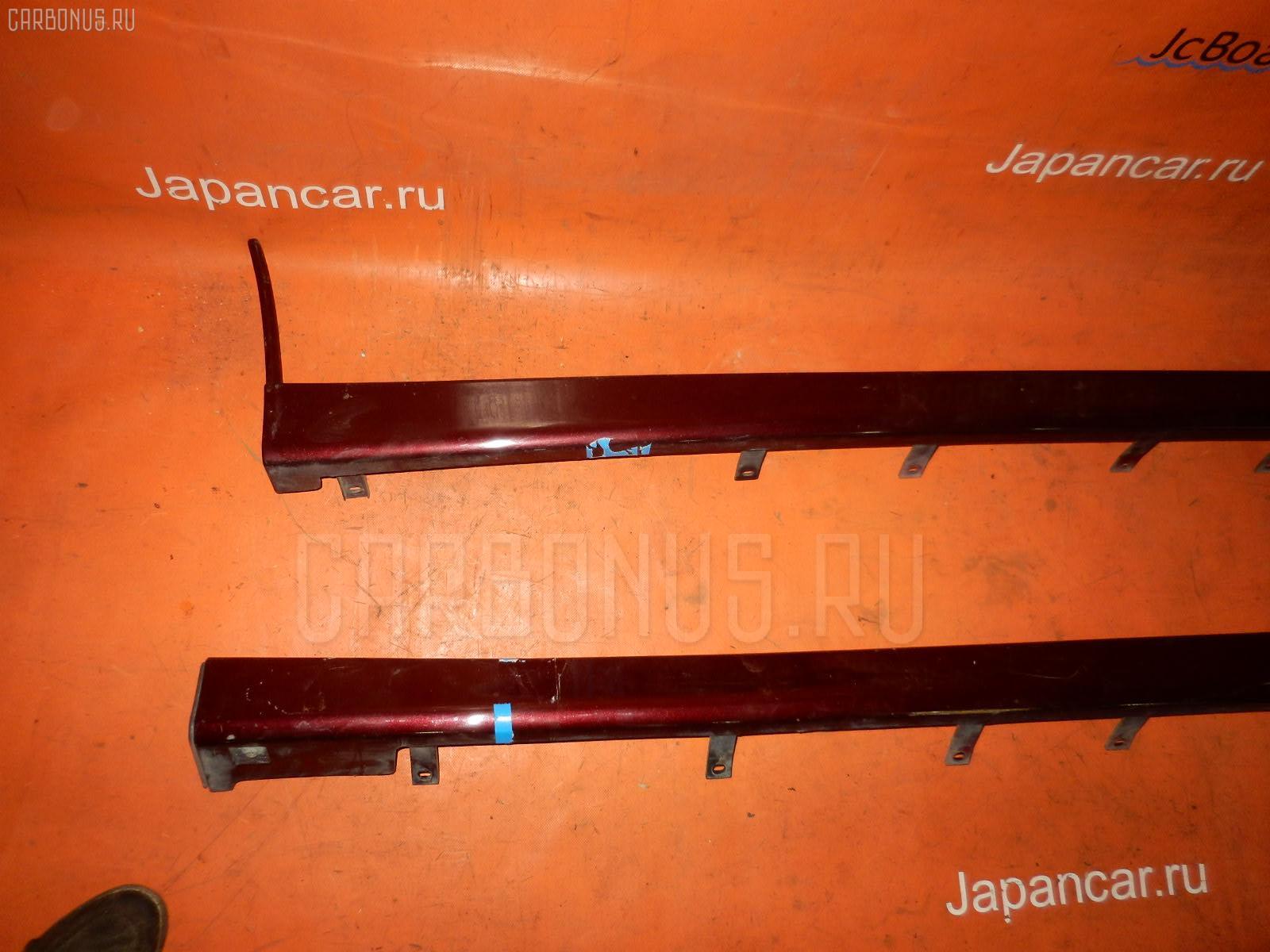Порог кузова пластиковый ( обвес ) Nissan Bluebird sylphy QG10 Фото 1