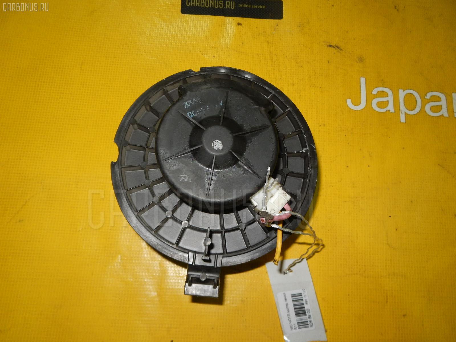Мотор печки NISSAN NOTE E11. Фото 3
