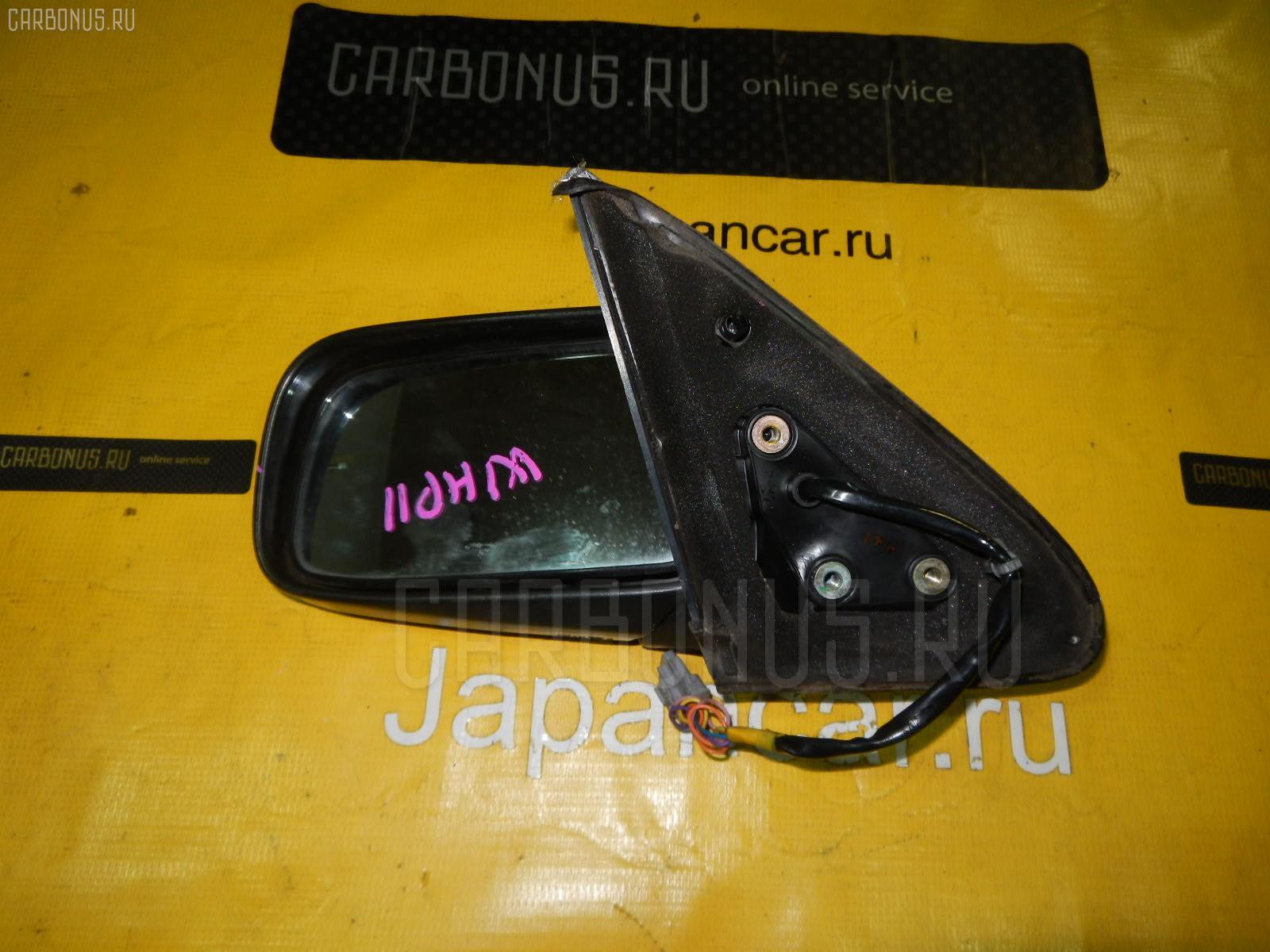 Зеркало двери боковой NISSAN PRIMERA CAMINO WAGON WHP11. Фото 5