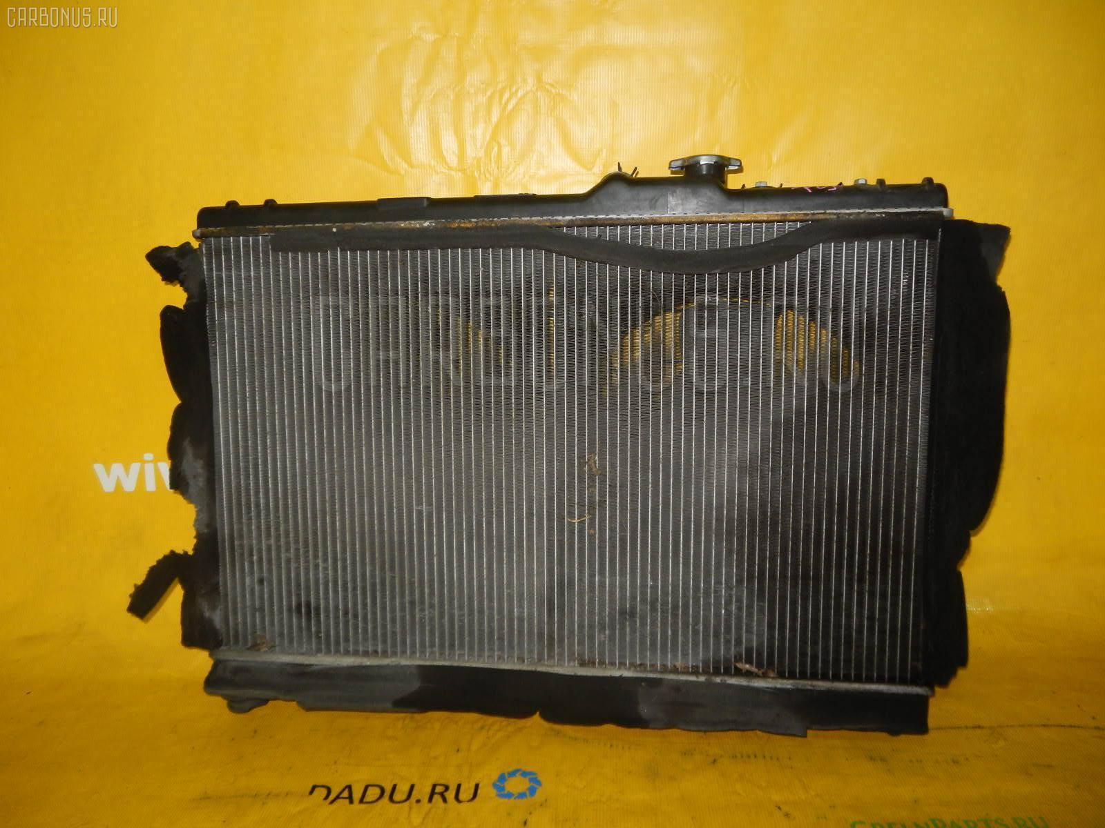 Радиатор ДВС TOYOTA CHASER SX100 4S-FE. Фото 4