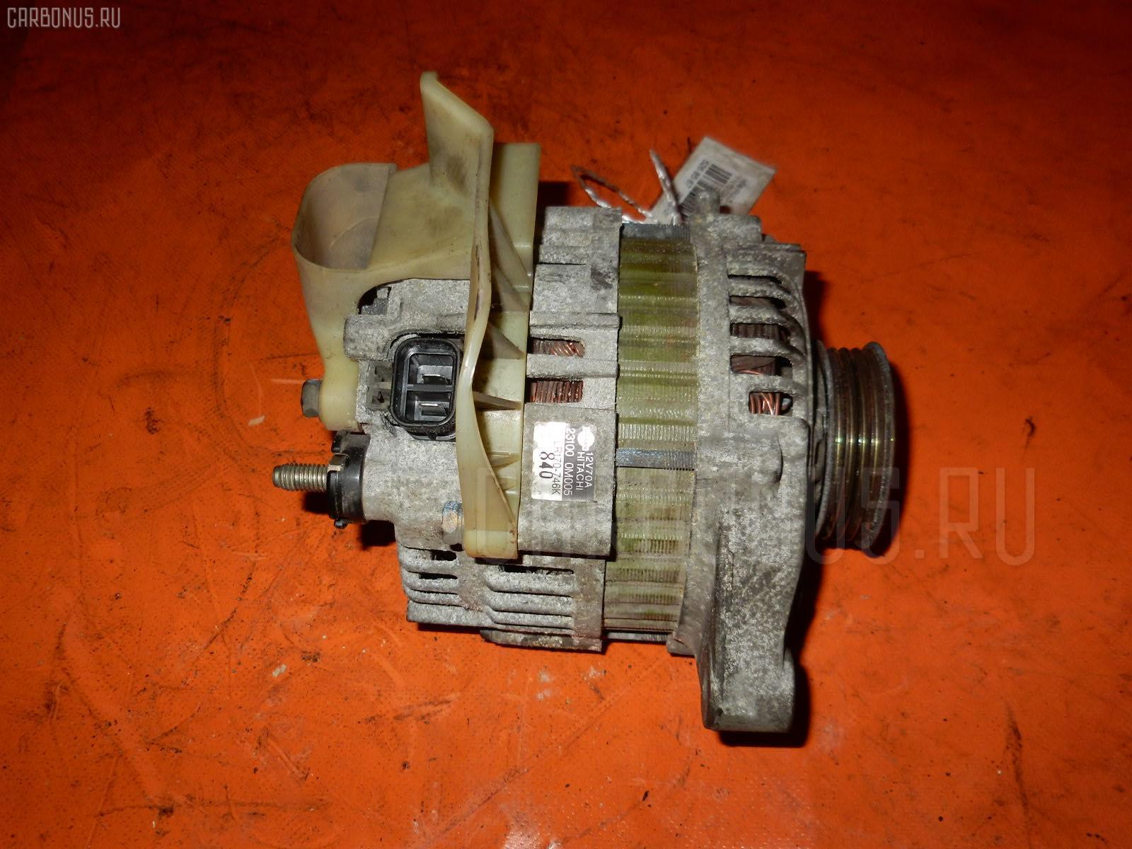 Генератор NISSAN PULSAR FN15 GA15DE. Фото 1