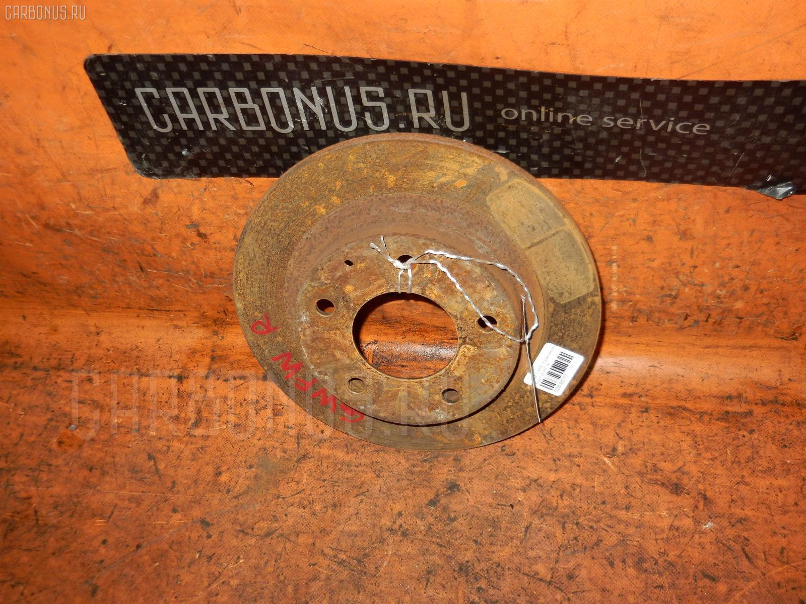 Тормозной диск MAZDA CAPELLA WAGON GWFW RF Фото 1