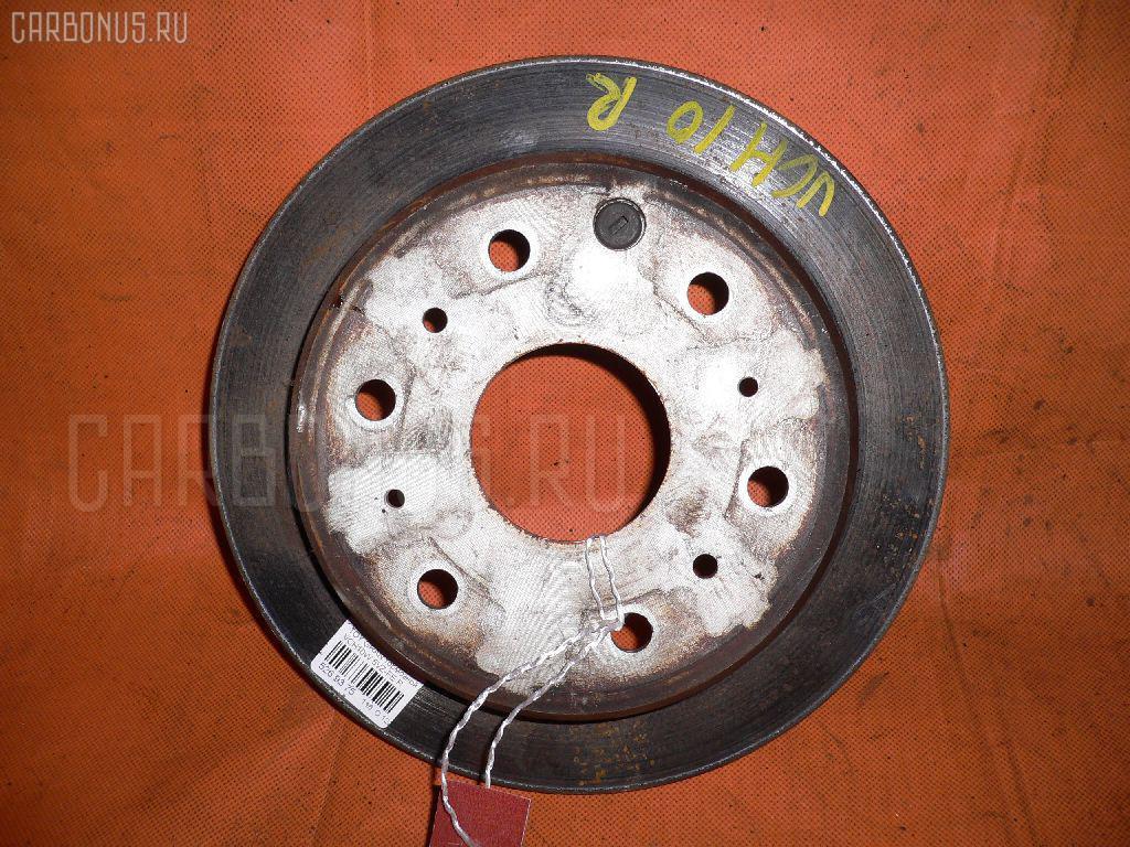 Тормозной диск TOYOTA GRAND HIACE VCH10W 5VZ-FE. Фото 3