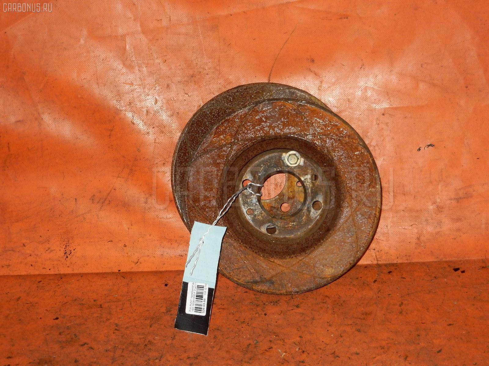 Тормозной диск FIAT PUNTO 188 183A1000 Фото 1