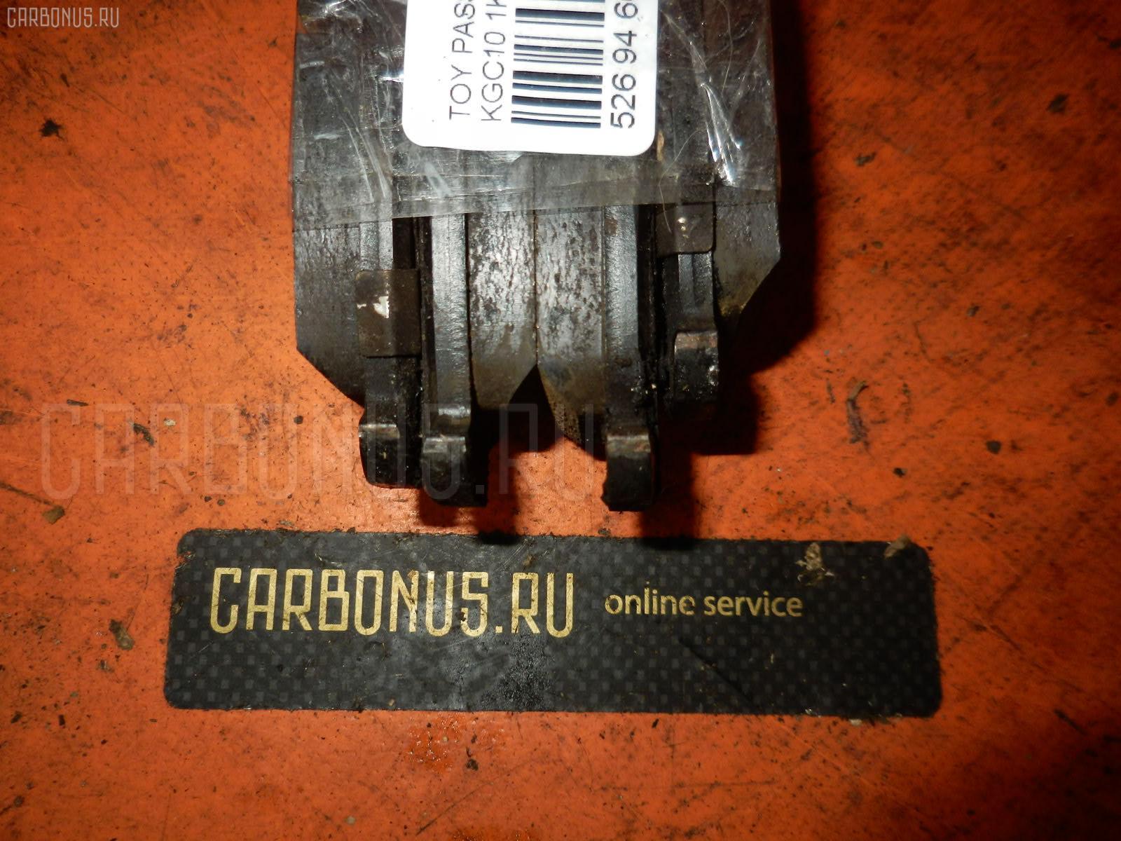 Тормозные колодки TOYOTA PASSO KGC10 1KR-FE. Фото 4