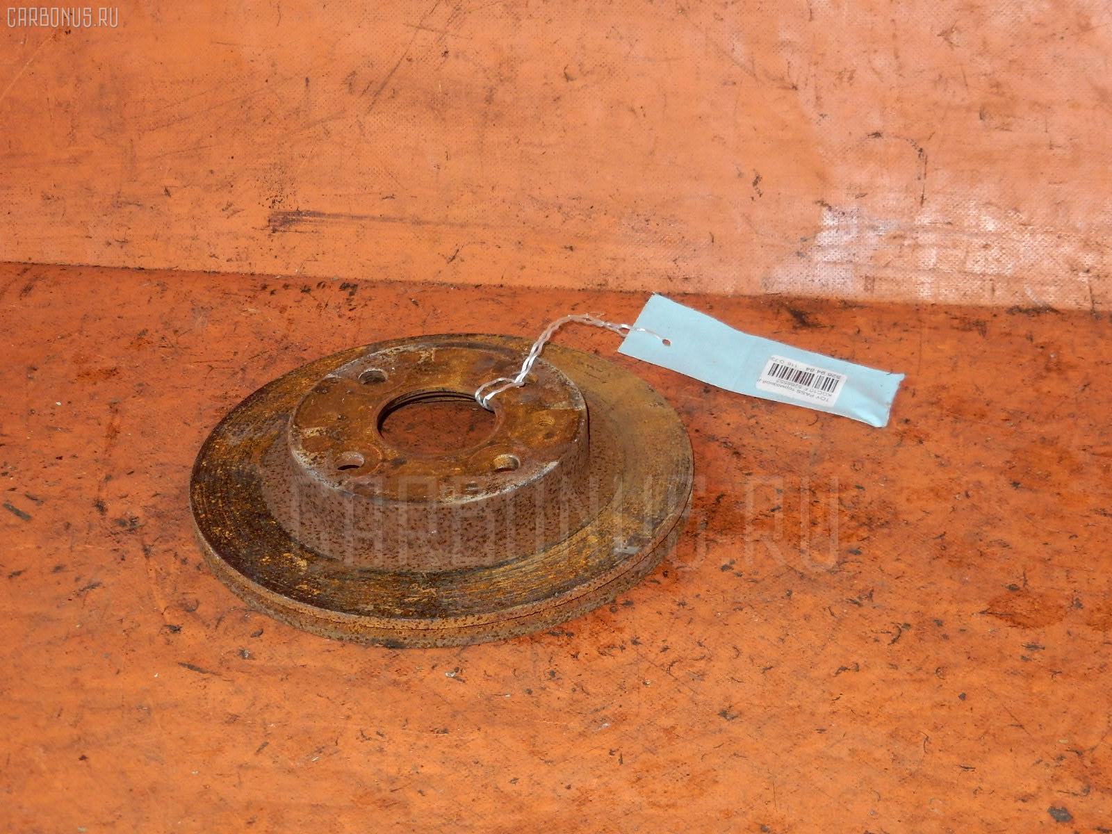 Тормозной диск TOYOTA PASSO KGC10. Фото 3