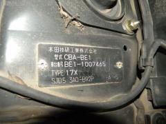 Клапан отопителя HONDA EDIX BE1 D17A Фото 3