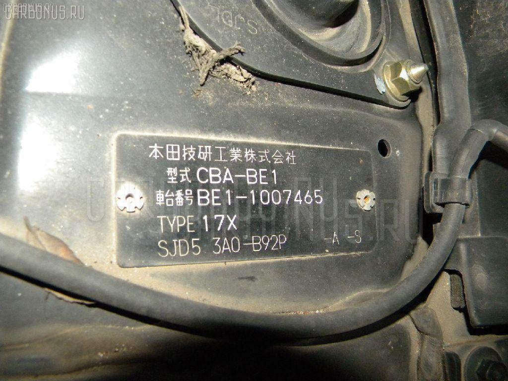 Патрубок радиатора ДВС HONDA EDIX BE1 D17A Фото 2