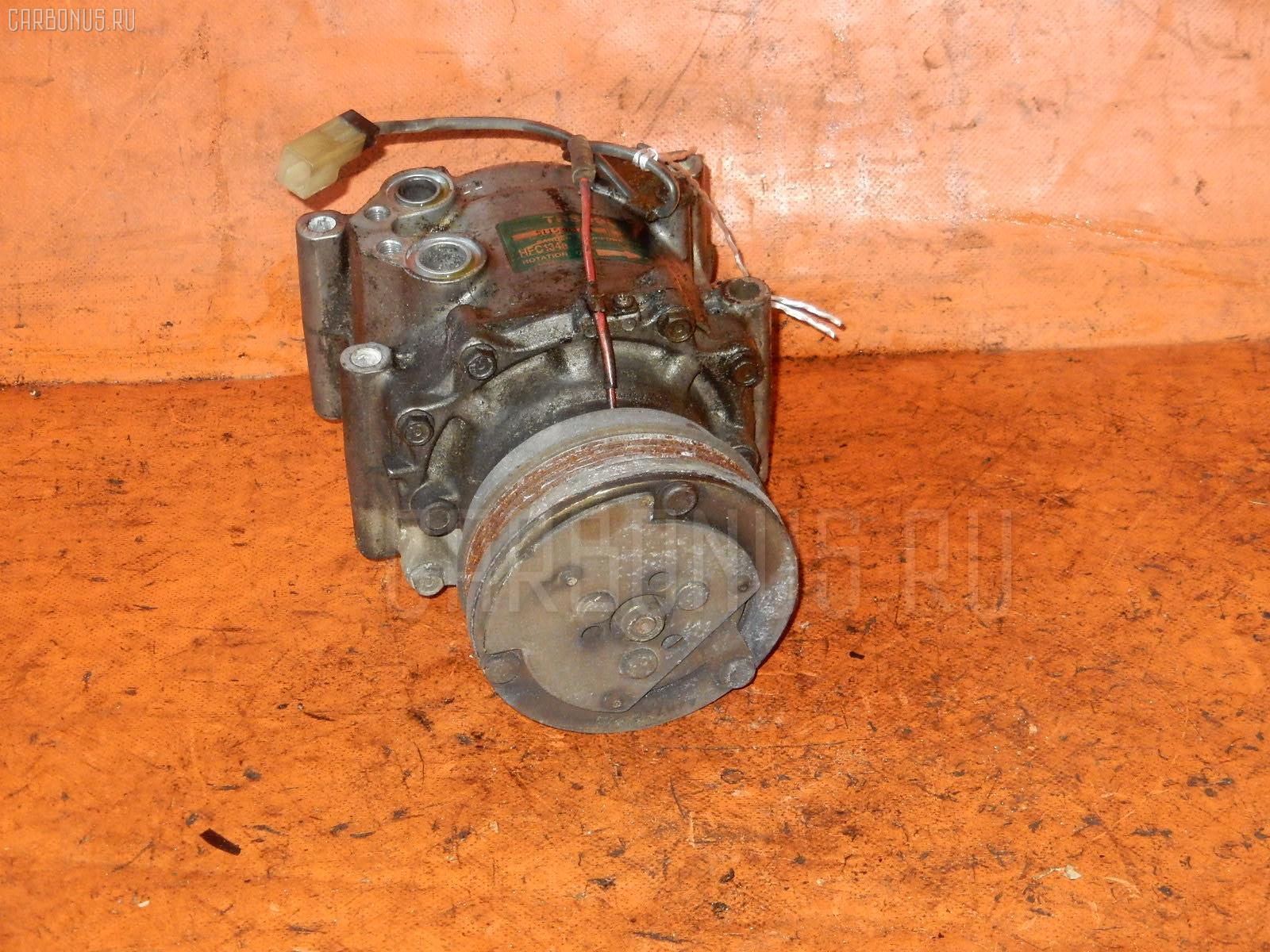 Компрессор кондиционера Toyota Caldina ET196V 5E-FE Фото 1