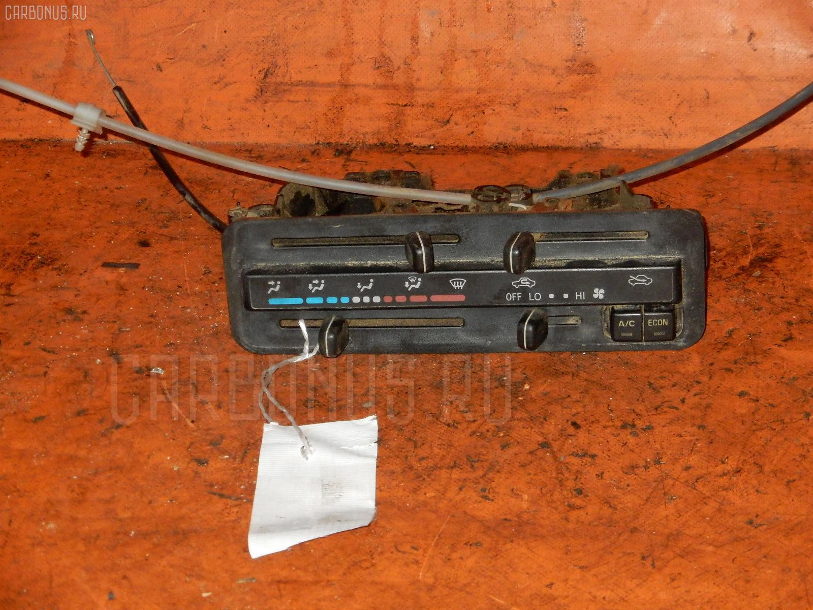 Блок управления климатконтроля TOYOTA CALDINA ET196V 5E-FE. Фото 4