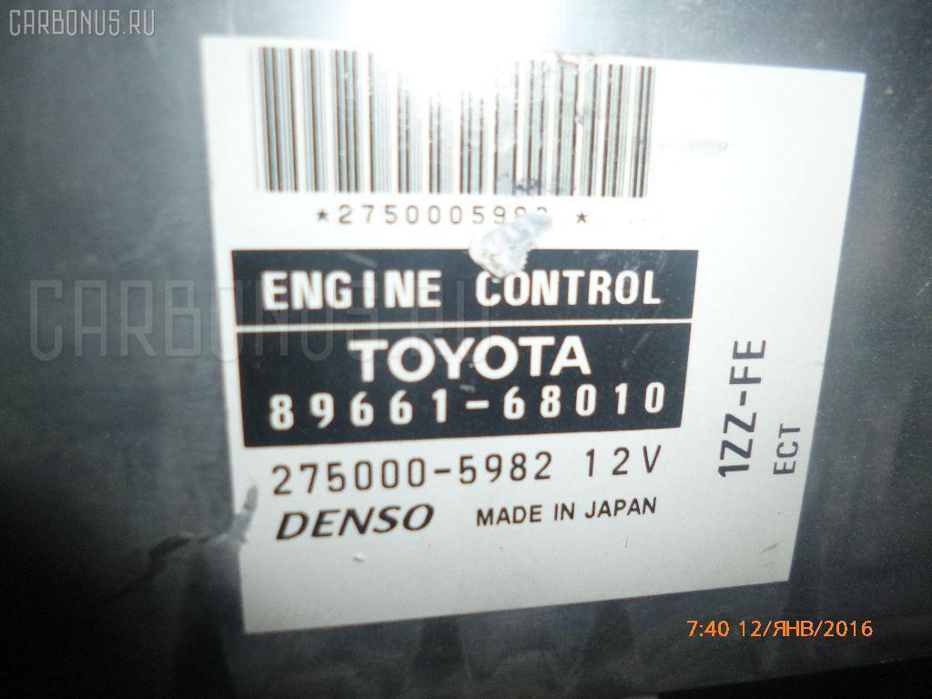 Двигатель TOYOTA WISH ZNE10G 1ZZ-FE. Фото 5