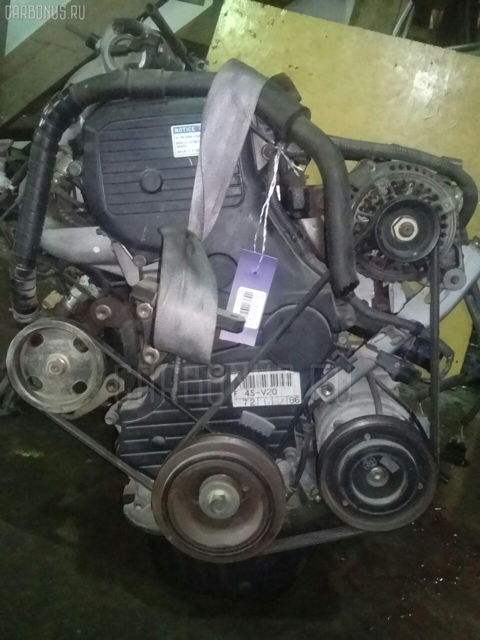 Двигатель TOYOTA CAMRY SV40 4S-FE. Фото 10