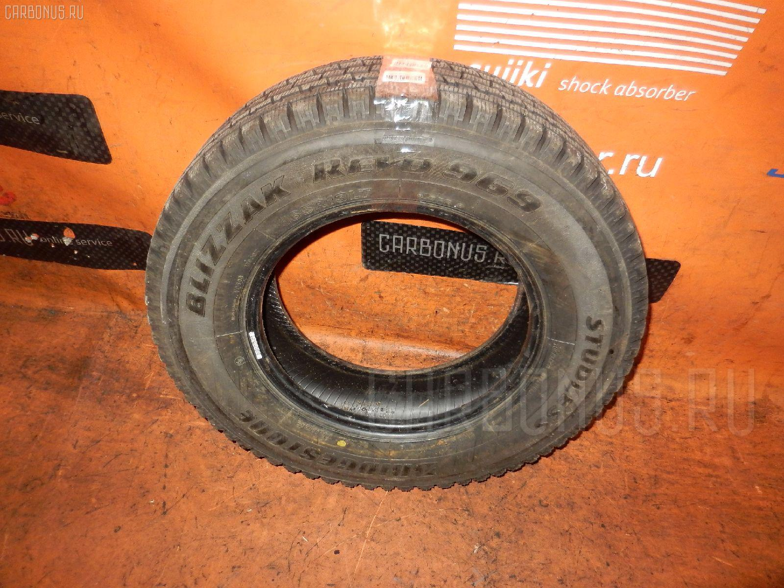 Автошина грузовая зимняя W969 165R13LT BRIDGESTONE Фото 1