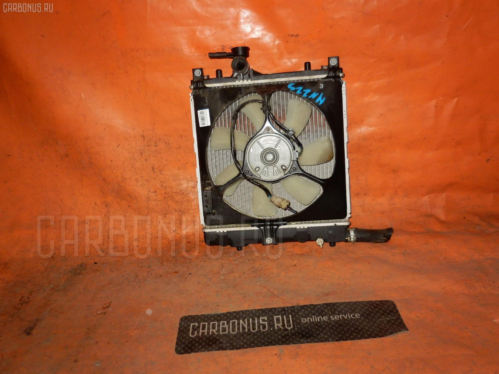 Радиатор ДВС SUZUKI KEI HN22S K6A. Фото 4