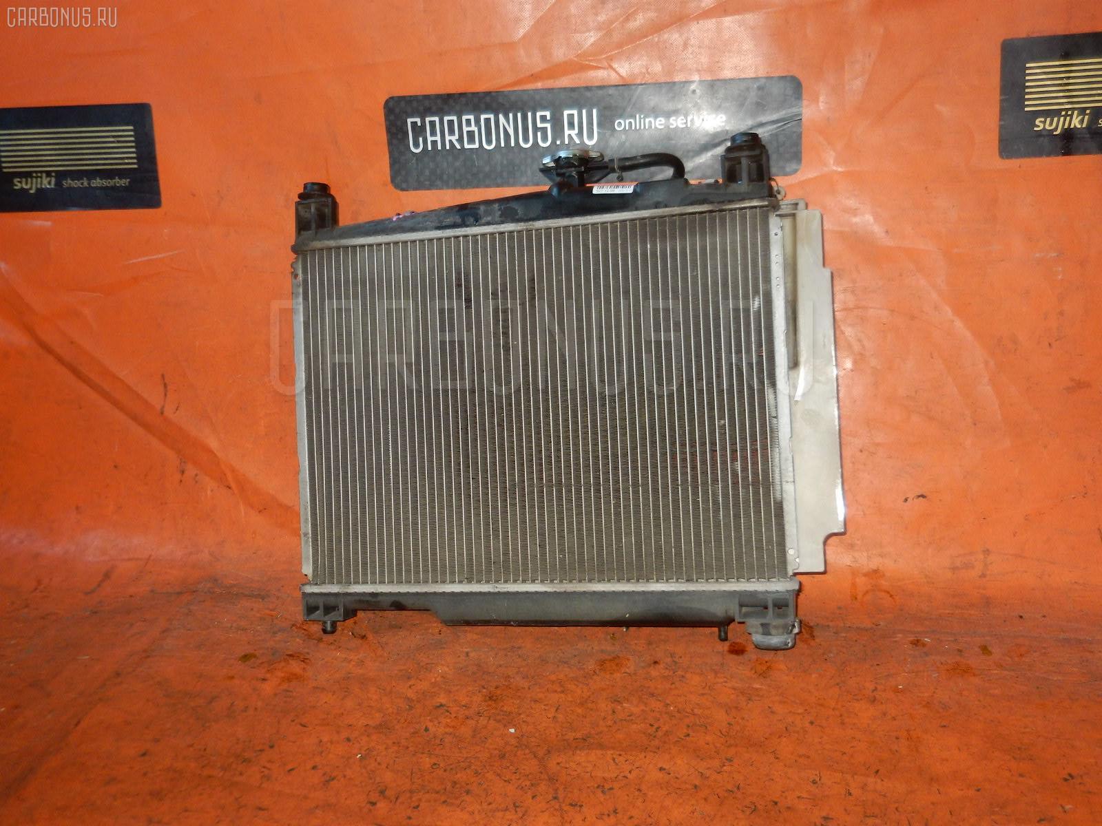 Радиатор ДВС TOYOTA VITZ SCP10 1SZ-FE. Фото 9