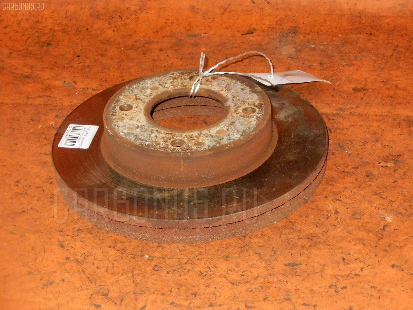 Тормозной диск NISSAN LARGO NW30 KA24DE. Фото 2