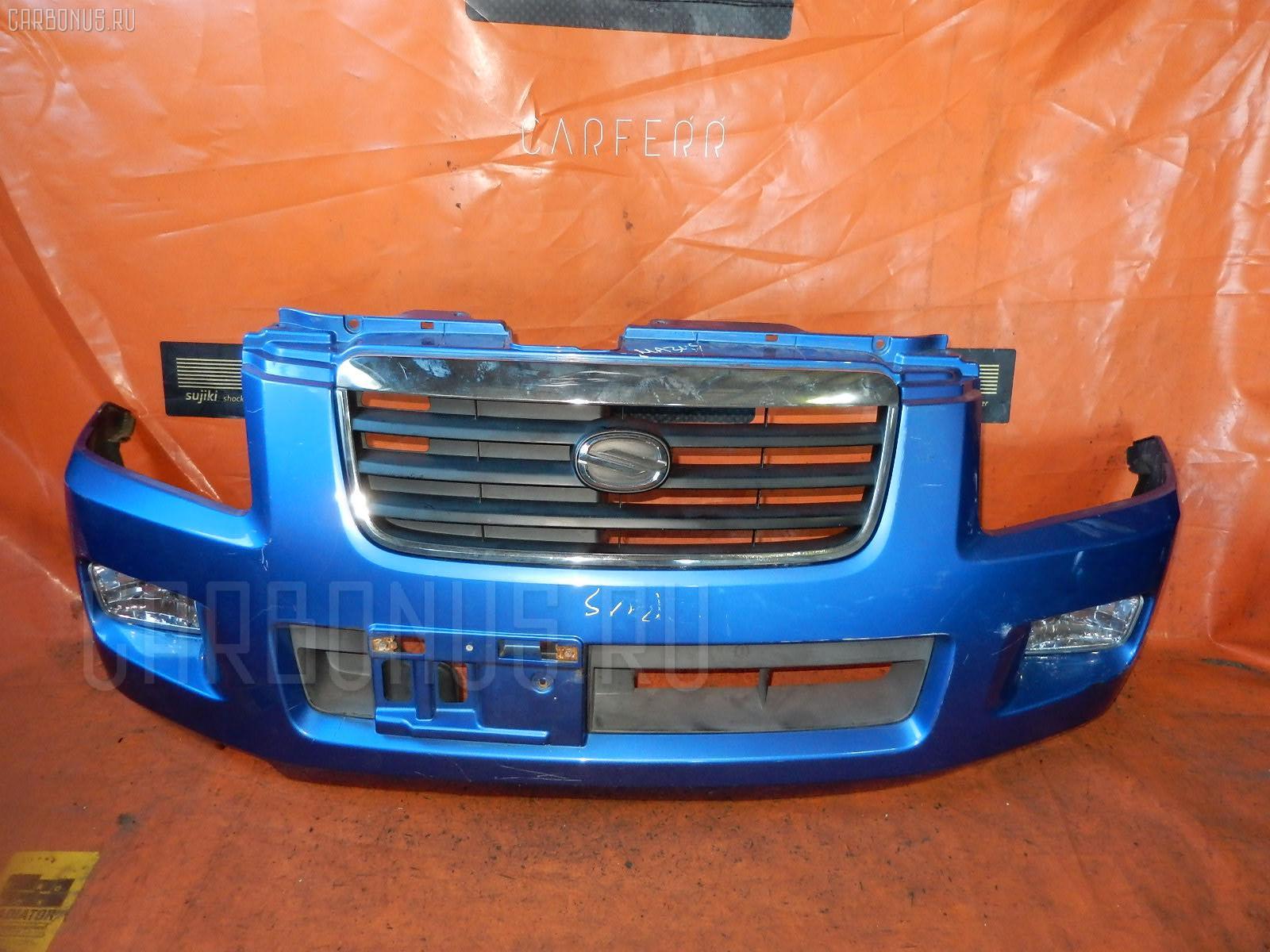 Бампер Suzuki Wagon r solio MA34S Фото 1