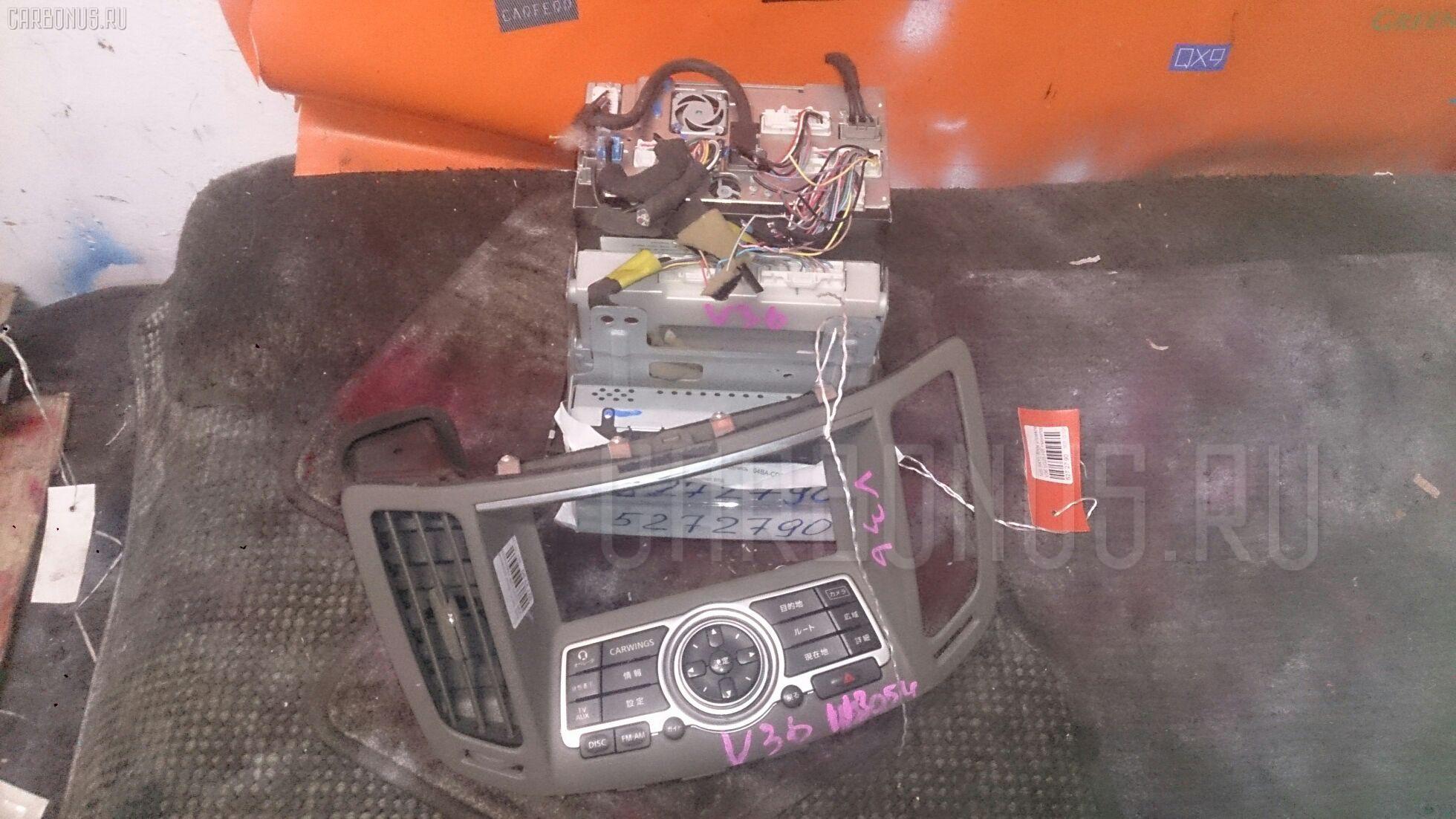 Блок управления климатконтроля NISSAN SKYLINE V36 VQ25-HR Фото 4