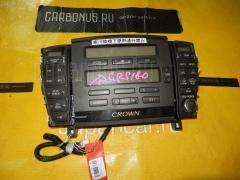 Блок управления климатконтроля Toyota Crown GRS180 4GR-FSE Фото 2