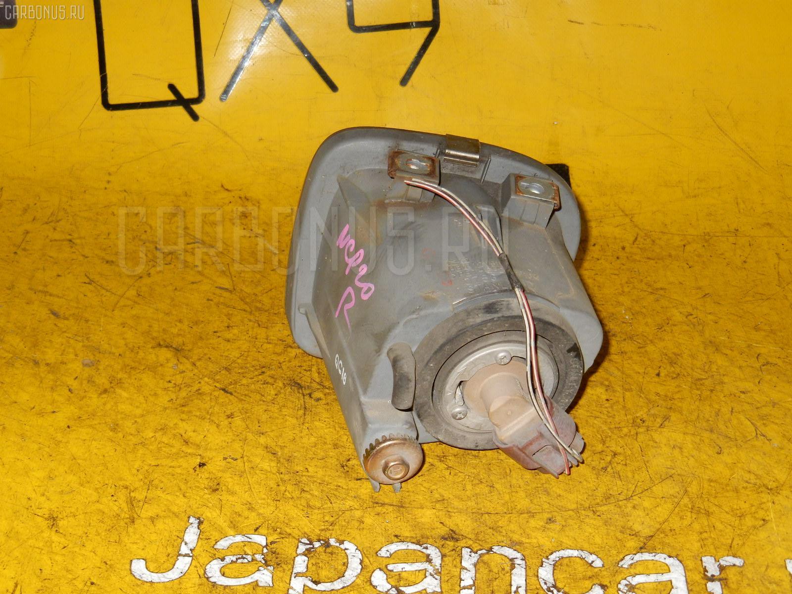 Туманка бамперная TOYOTA FUNCARGO NCP20. Фото 8