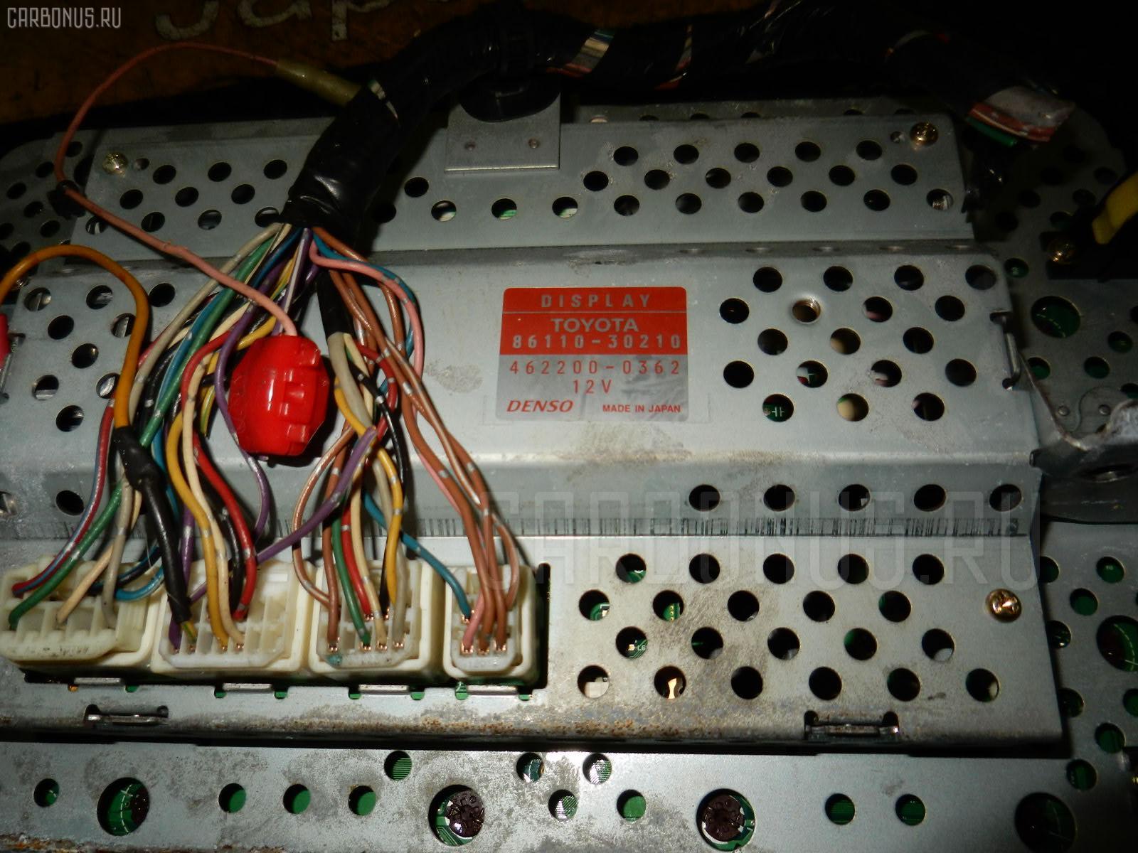 Блок управления климатконтроля TOYOTA CROWN JZS171 1JZ-FSE Фото 2