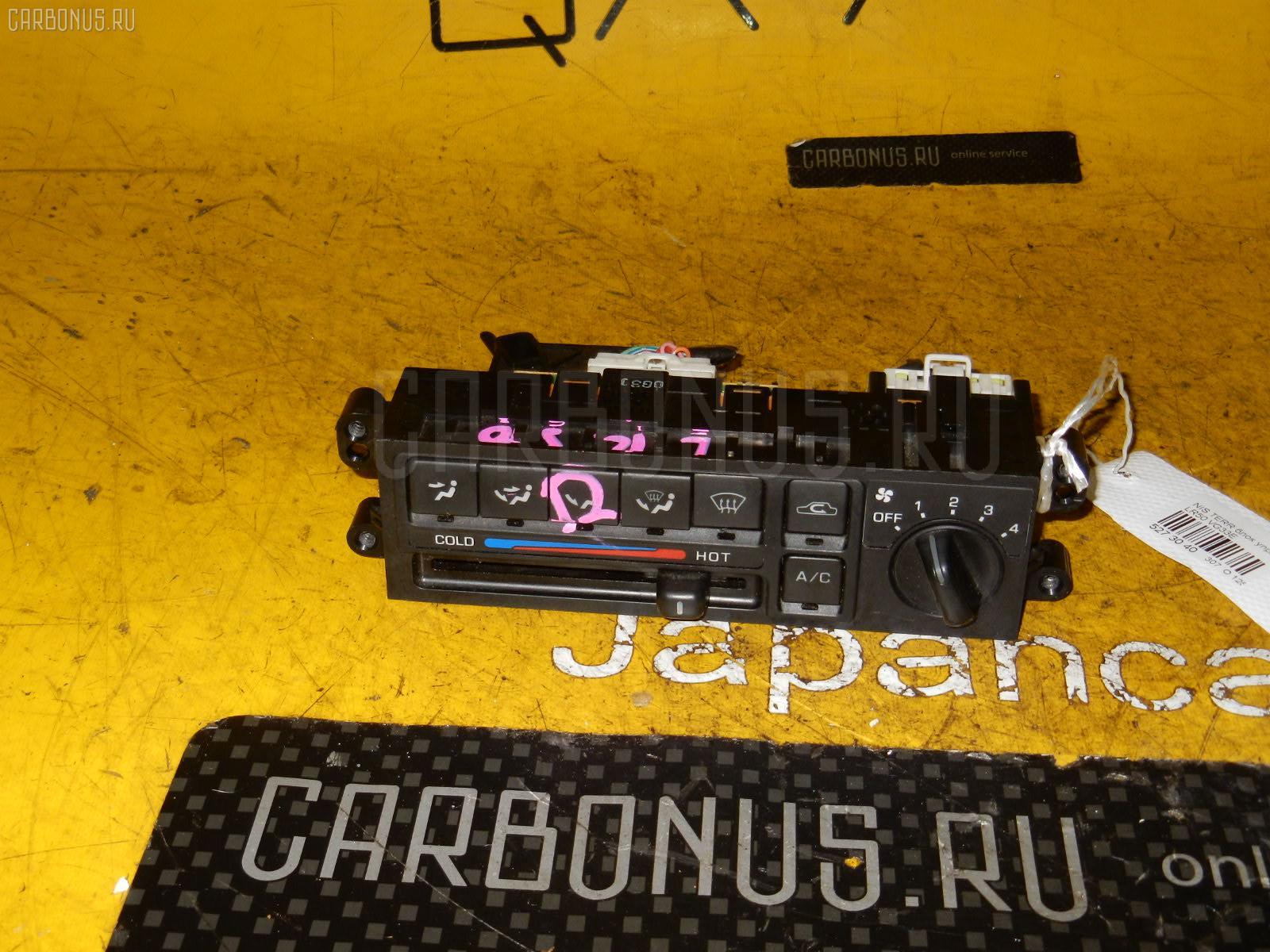 Блок управления климатконтроля NISSAN TERRANO LR50 VG33E. Фото 5