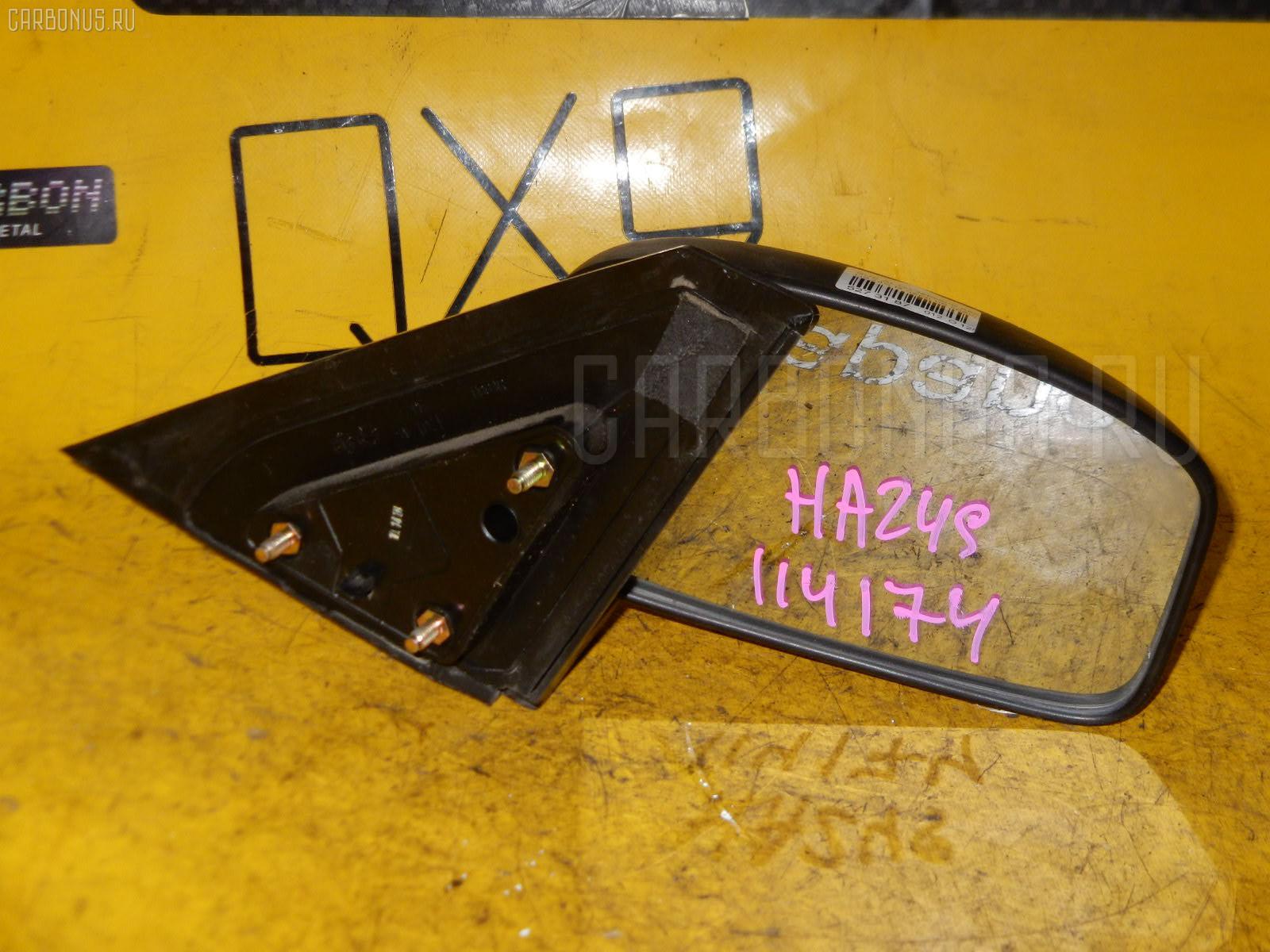Зеркало двери боковой SUZUKI ALTO HA24S. Фото 6