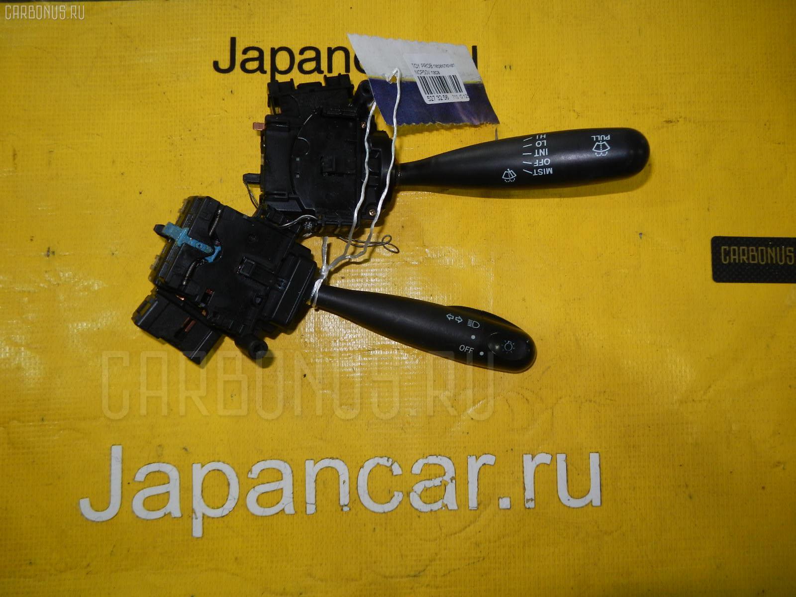 Переключатель поворотов TOYOTA PROBOX NCP50V. Фото 7