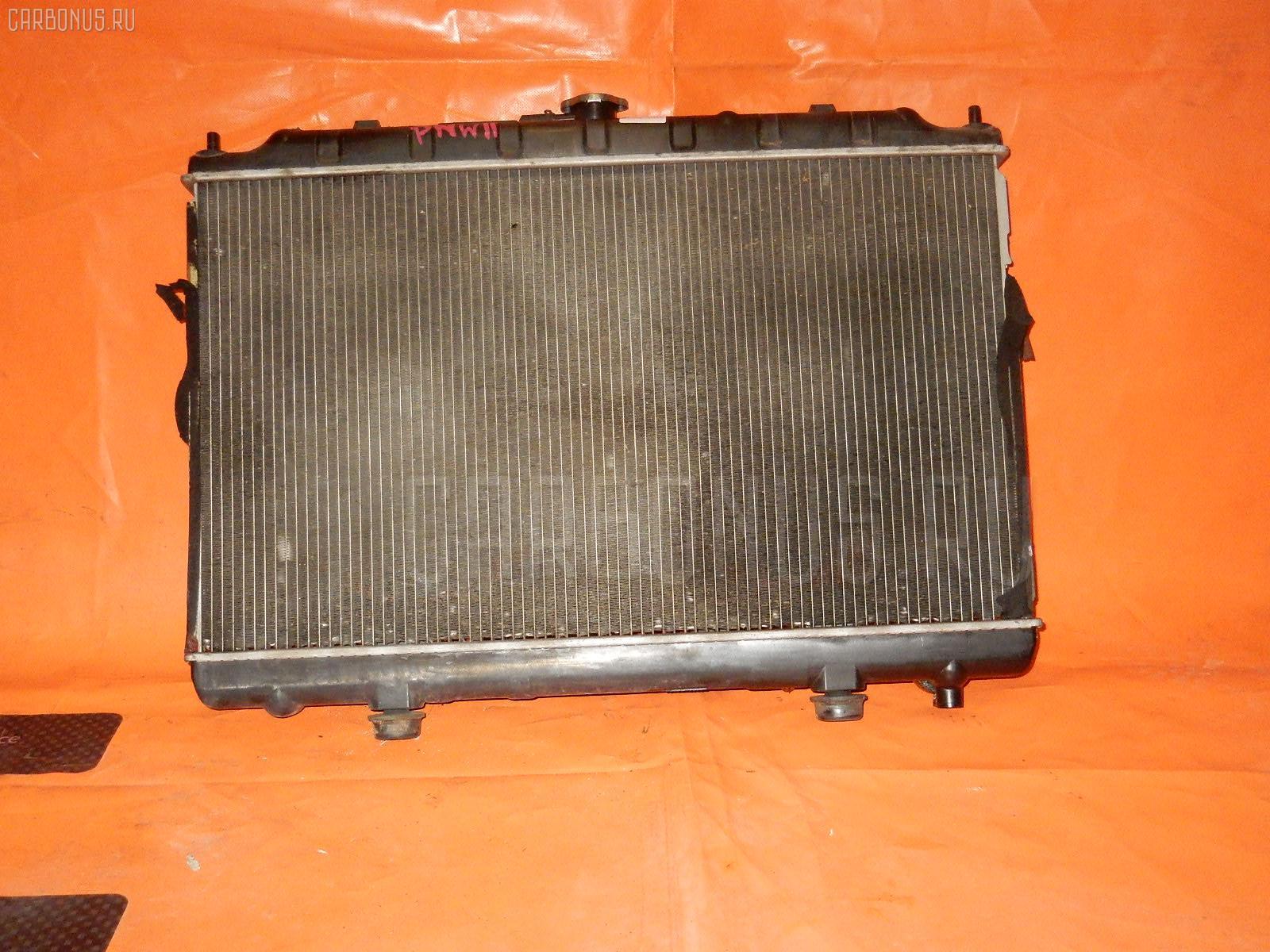 Радиатор ДВС NISSAN AVENIR PNW11 SR20DE Фото 1