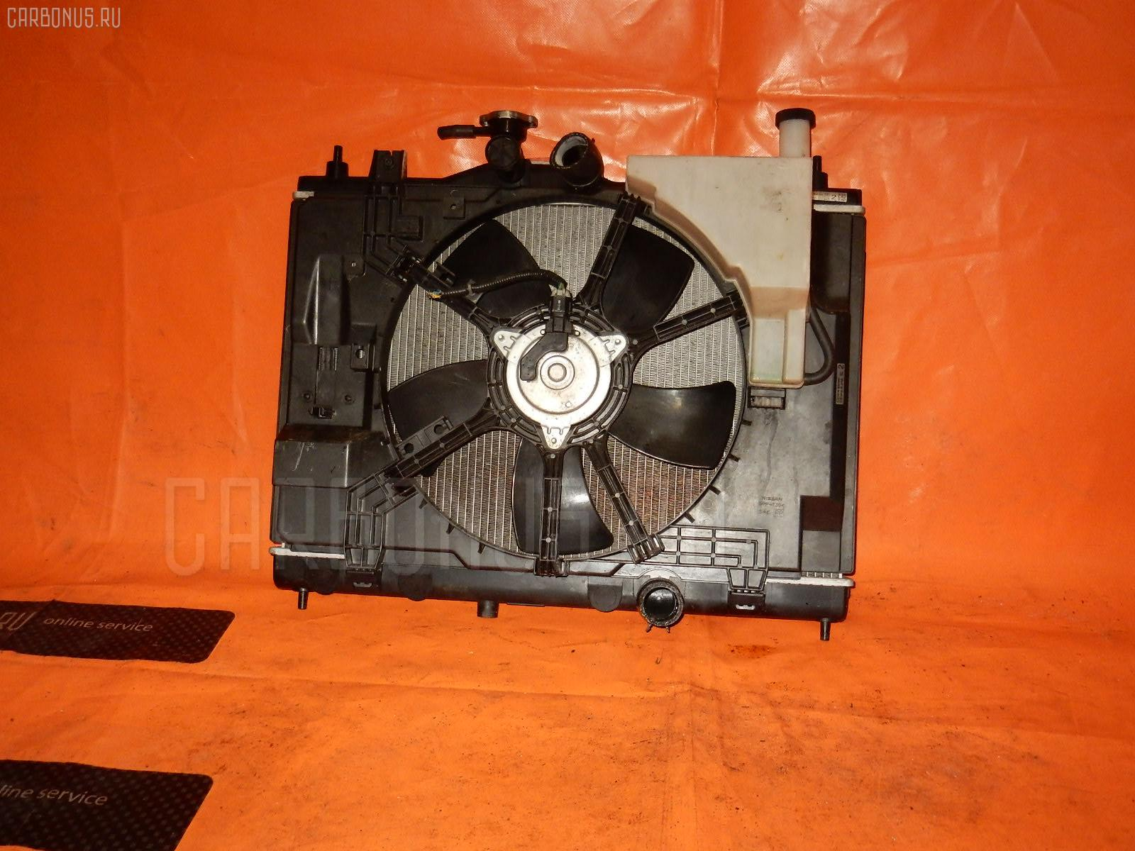 Радиатор ДВС NISSAN WINGROAD Y12 HR15-DE Фото 1