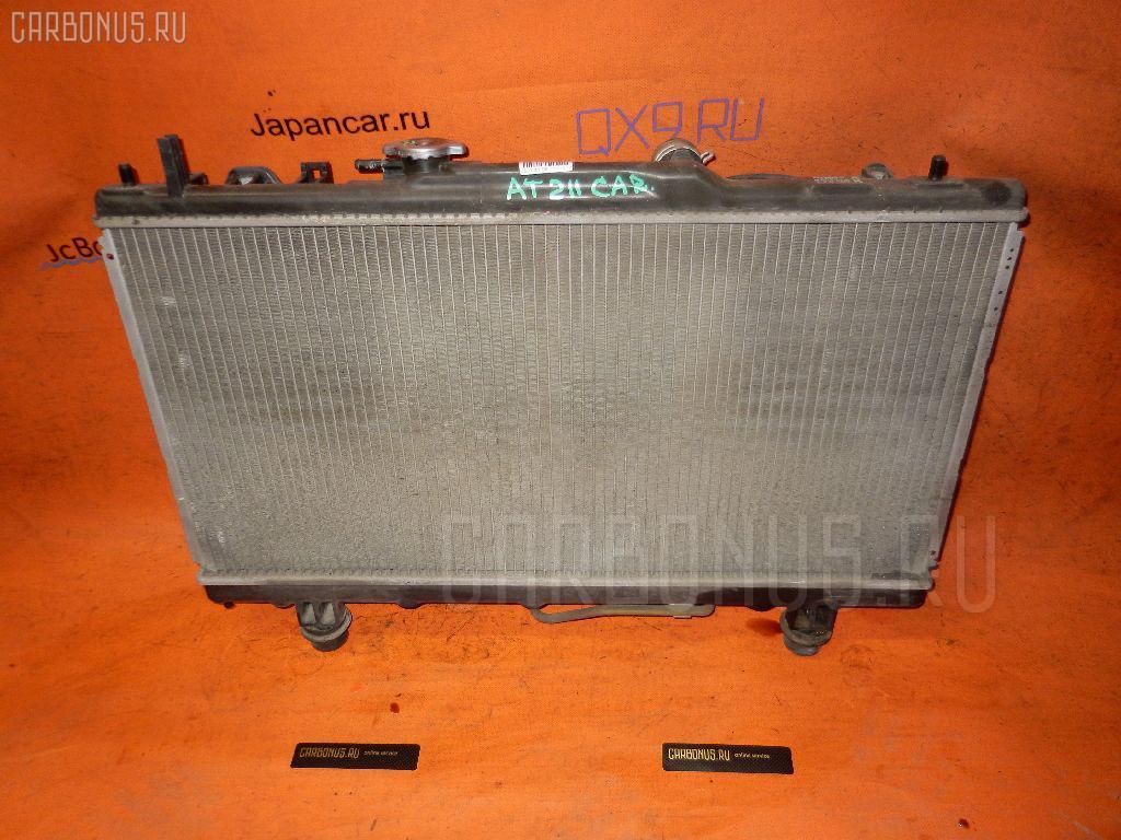 Радиатор ДВС TOYOTA CARINA AT210 4A-FE. Фото 3