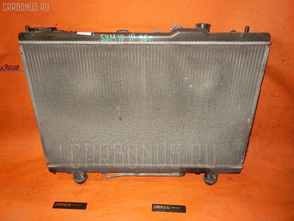 Радиатор ДВС TOYOTA IPSUM SXM10 3S-FE. Фото 6