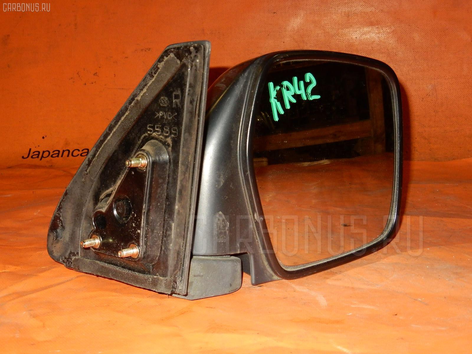 Зеркало двери боковой TOYOTA LITE ACE KR42V. Фото 9