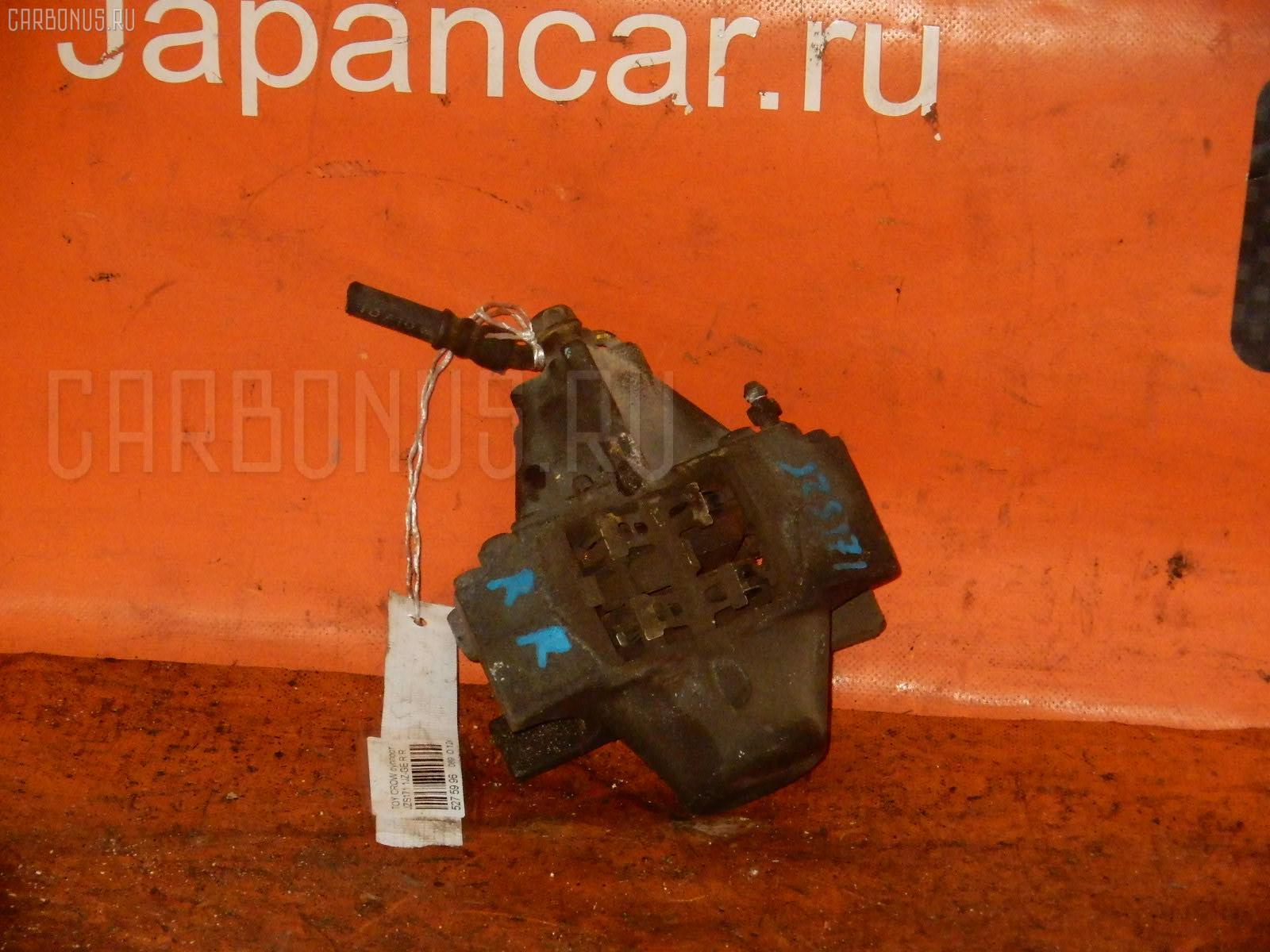 Суппорт TOYOTA CROWN JZS175 2JZ-FSE. Фото 9
