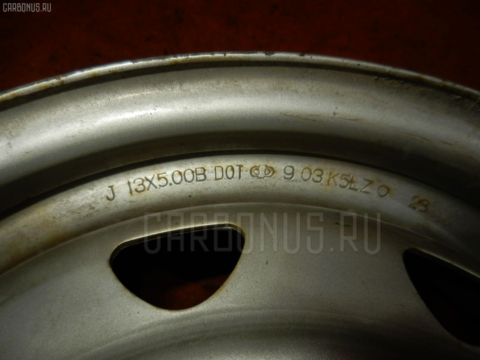 Диск штампованный R13 / 4-100/4-114.3 Фото 2