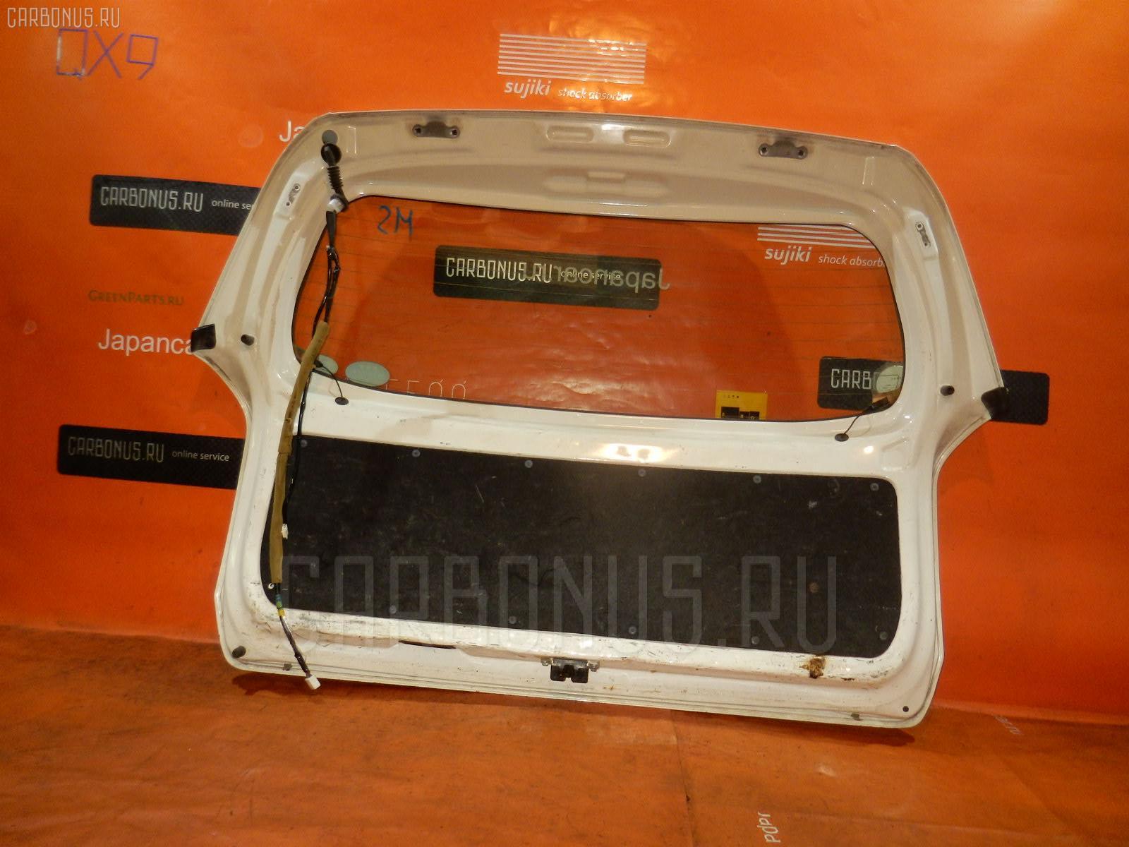 Дверь задняя TOYOTA PROBOX NCP55V. Фото 7
