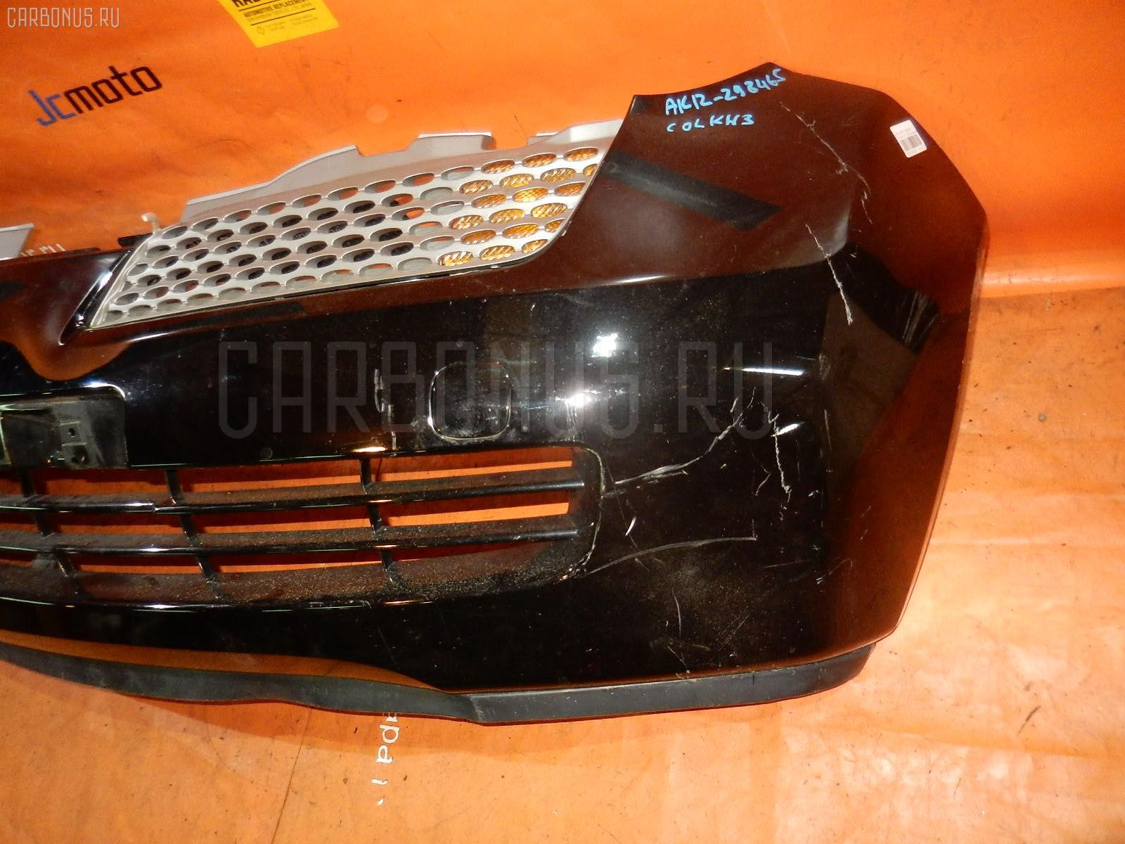 Бампер Nissan March AK12 Фото 1