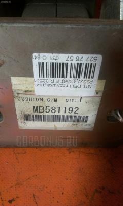Подушка двигателя MITSUBISHI DELICA STAR WAGON P25W 4D56T Фото 1