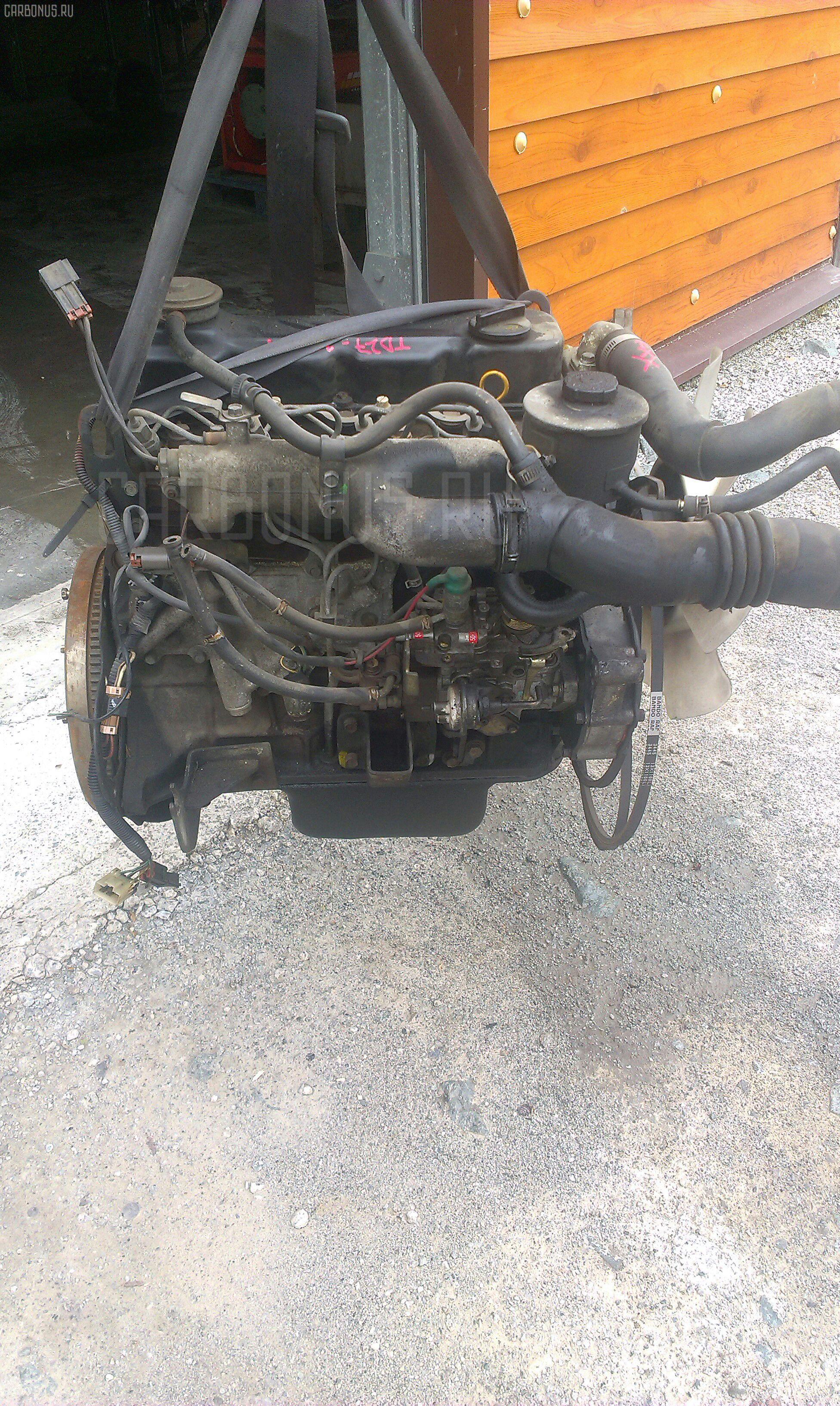 Двигатель NISSAN ATLAS AGF22 TD27 Фото 7