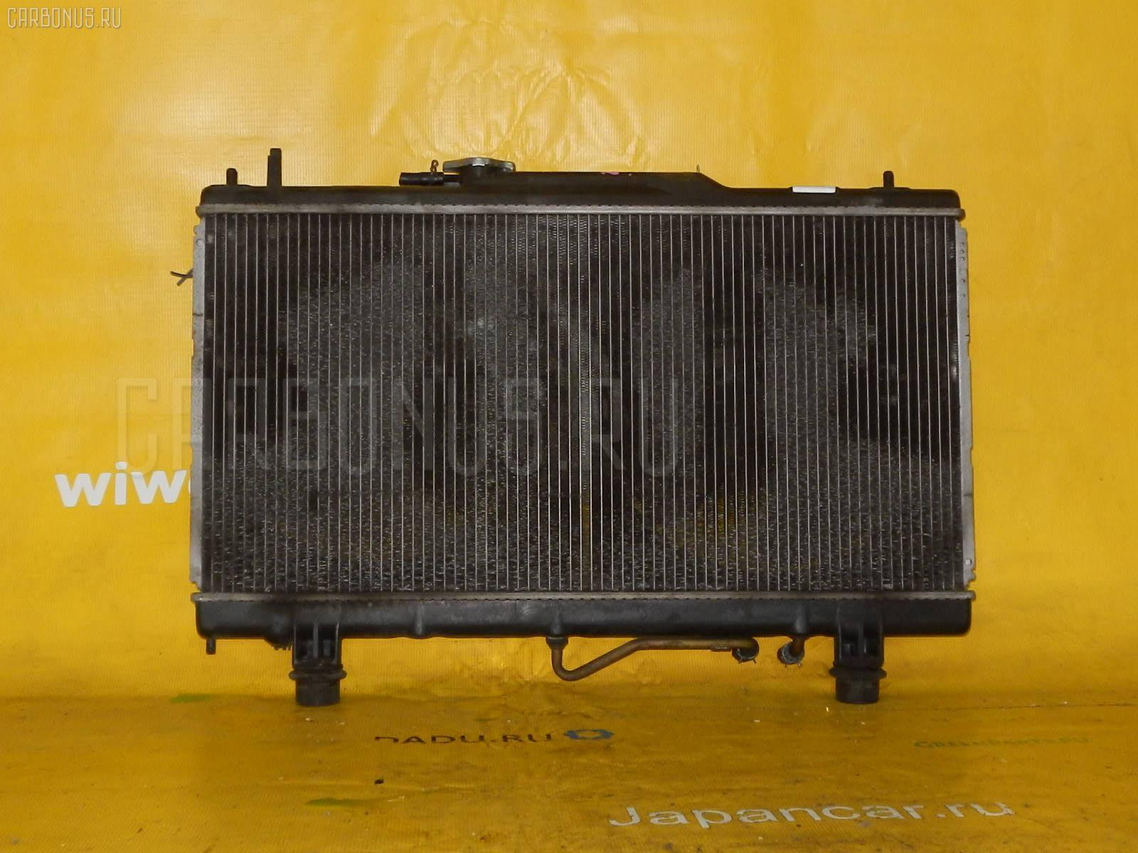 Радиатор ДВС TOYOTA CALDINA ST210 3S-FSE Фото 2